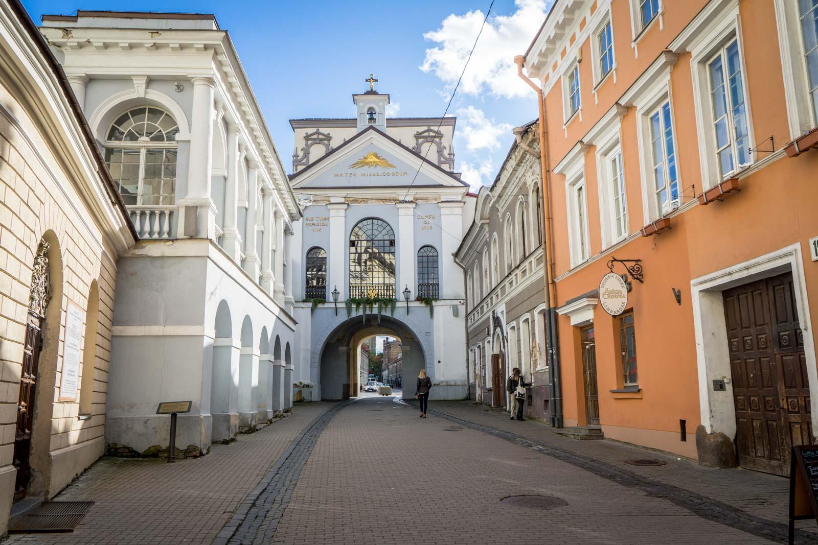 Historic city, Vilnius, Lithuania