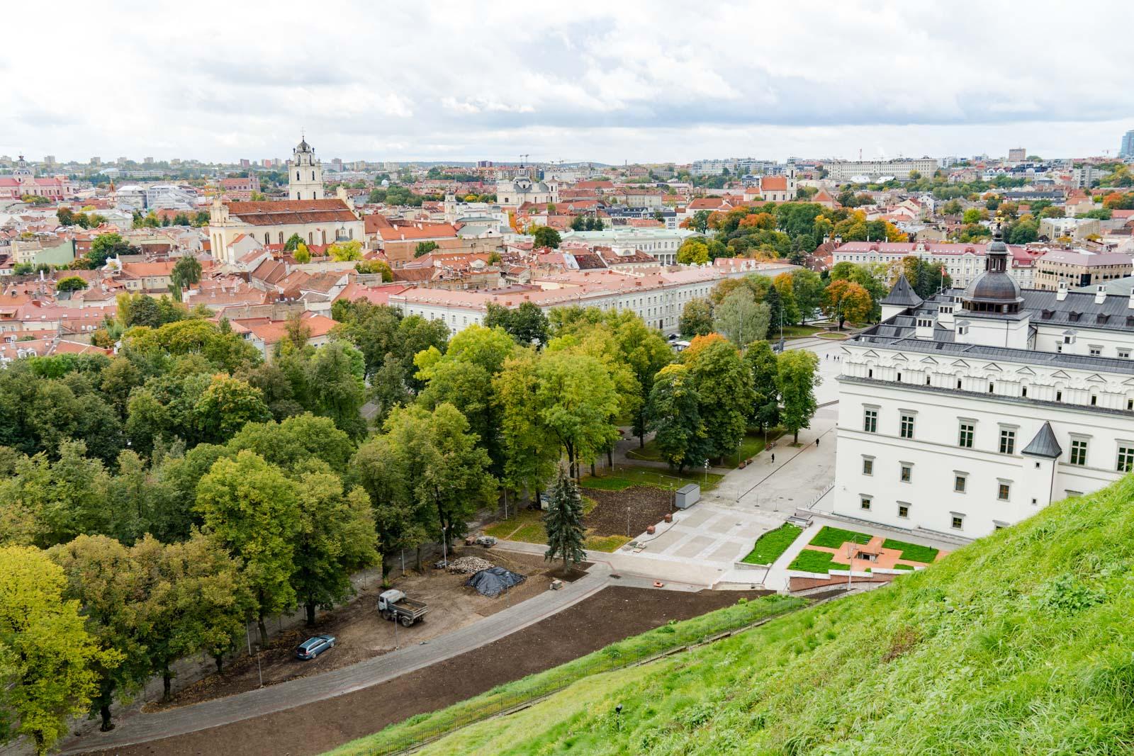 Gediminas Castle, Vilnius, Lithuania