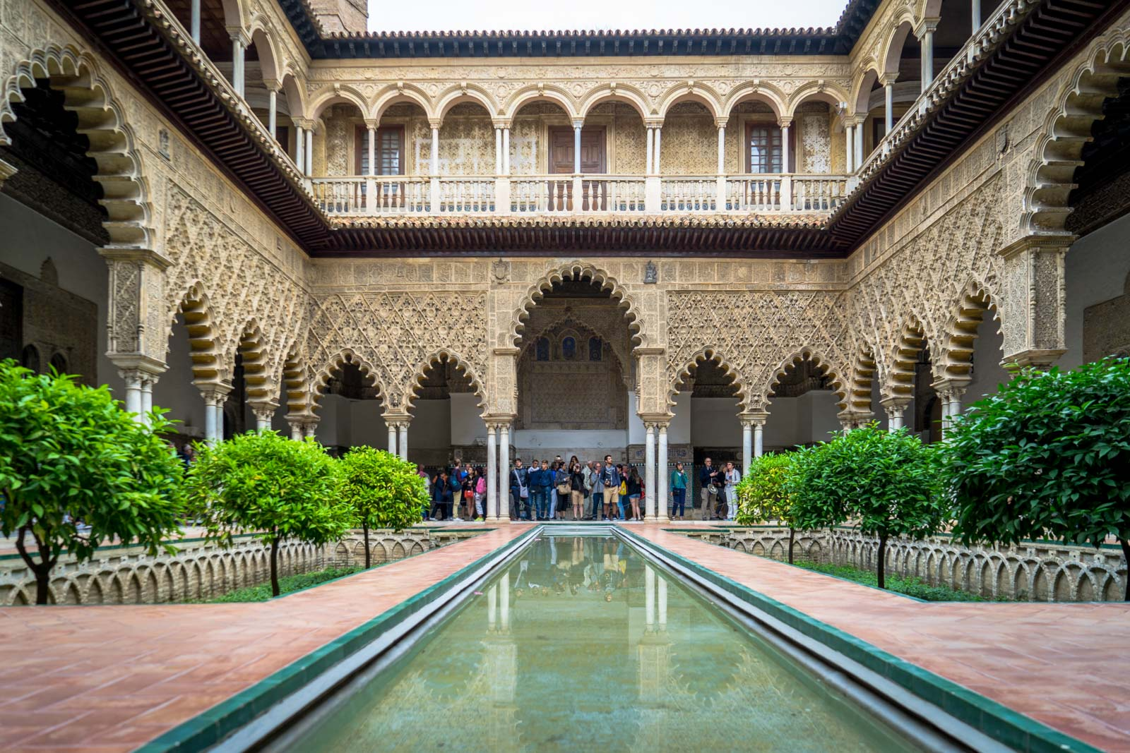 Alcazar of Seville, Spain