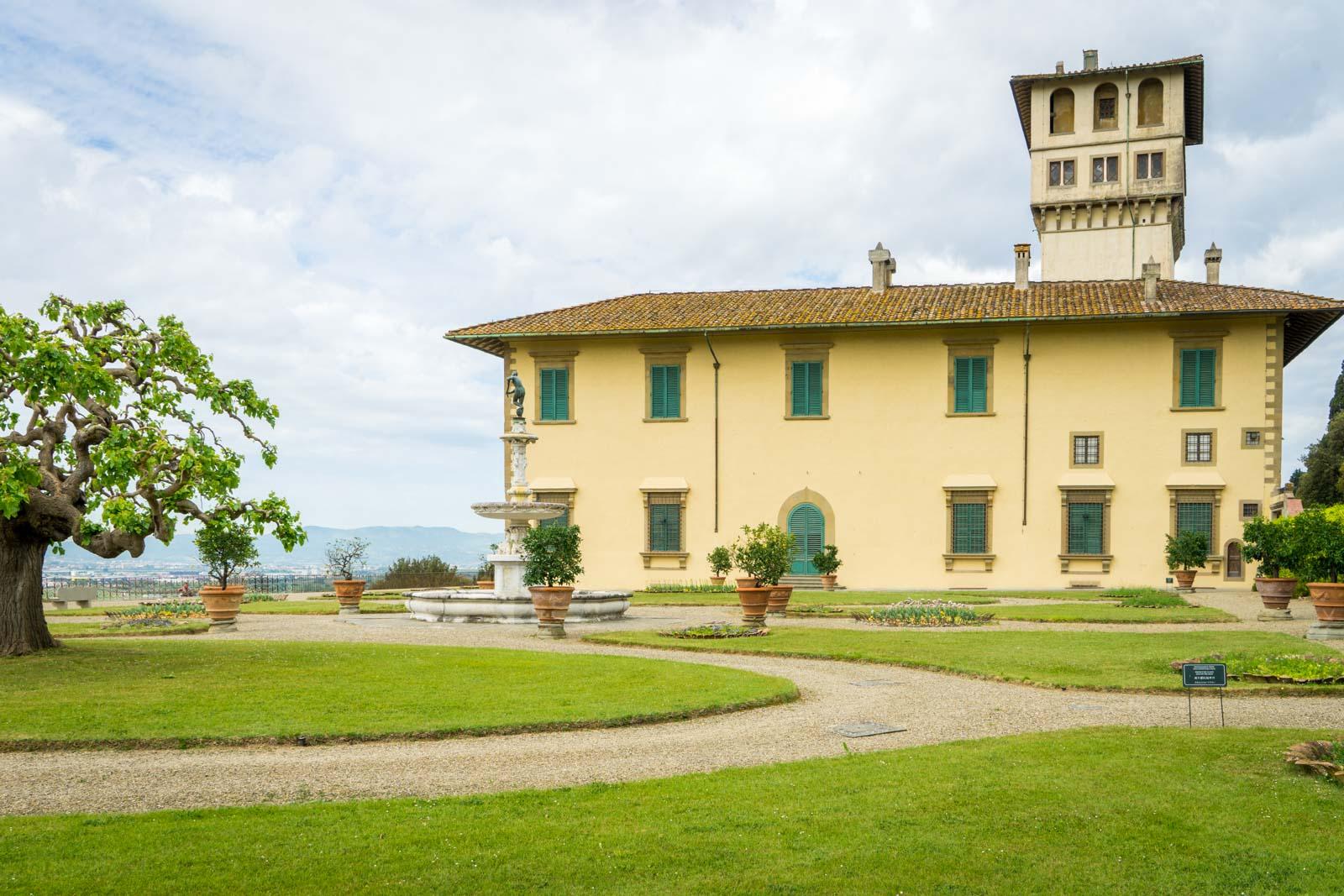 Villa La Petraia, Tuscany, Italy