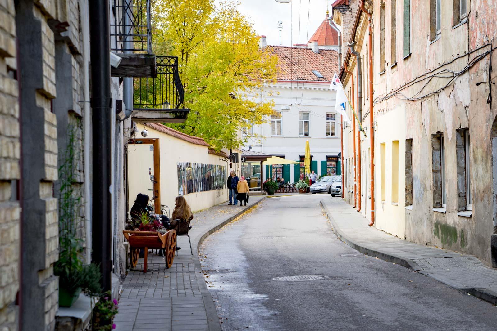 Užupis Republic, Vilnius, Lithuania
