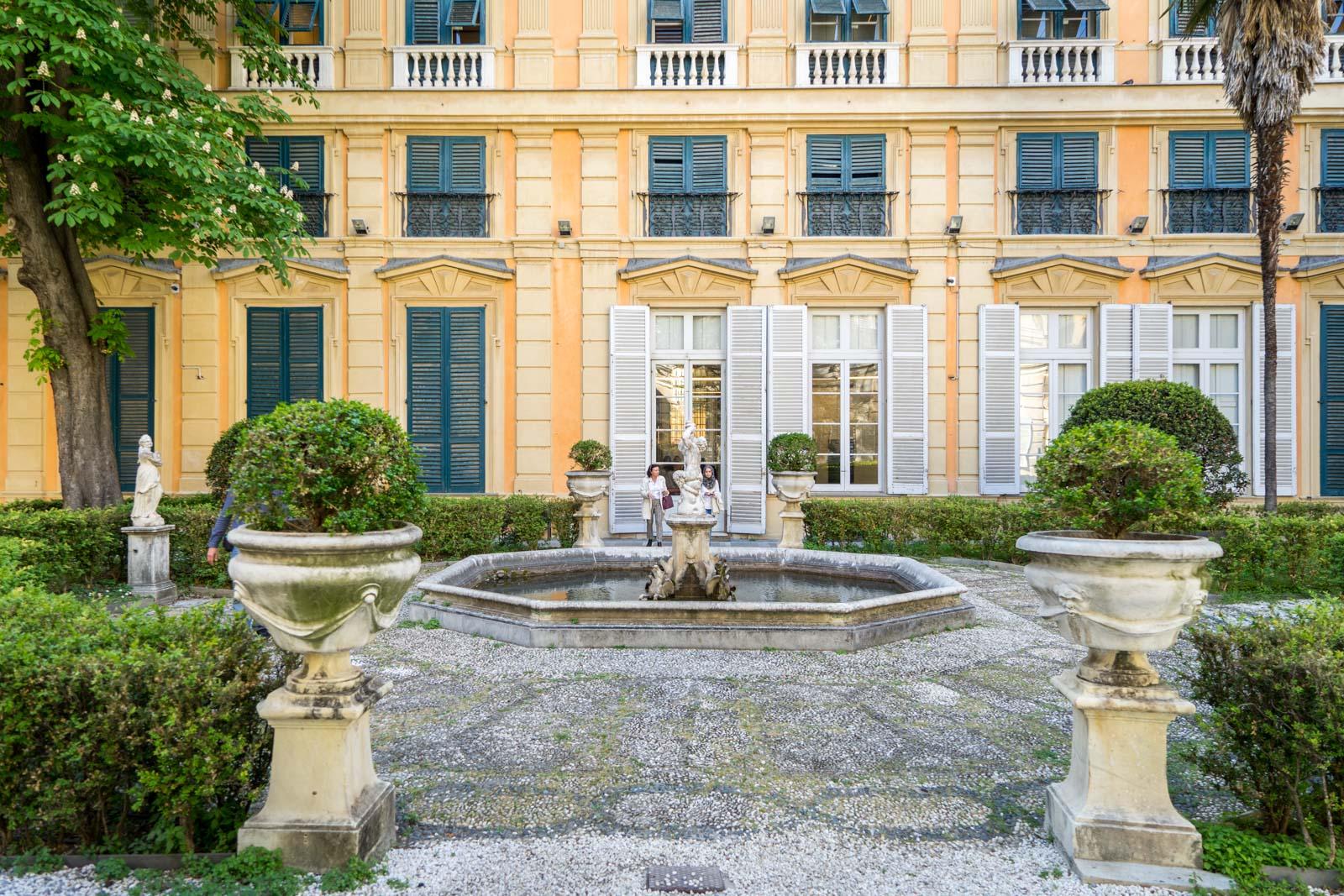 Palazzo Bianco, Genoa, Italy