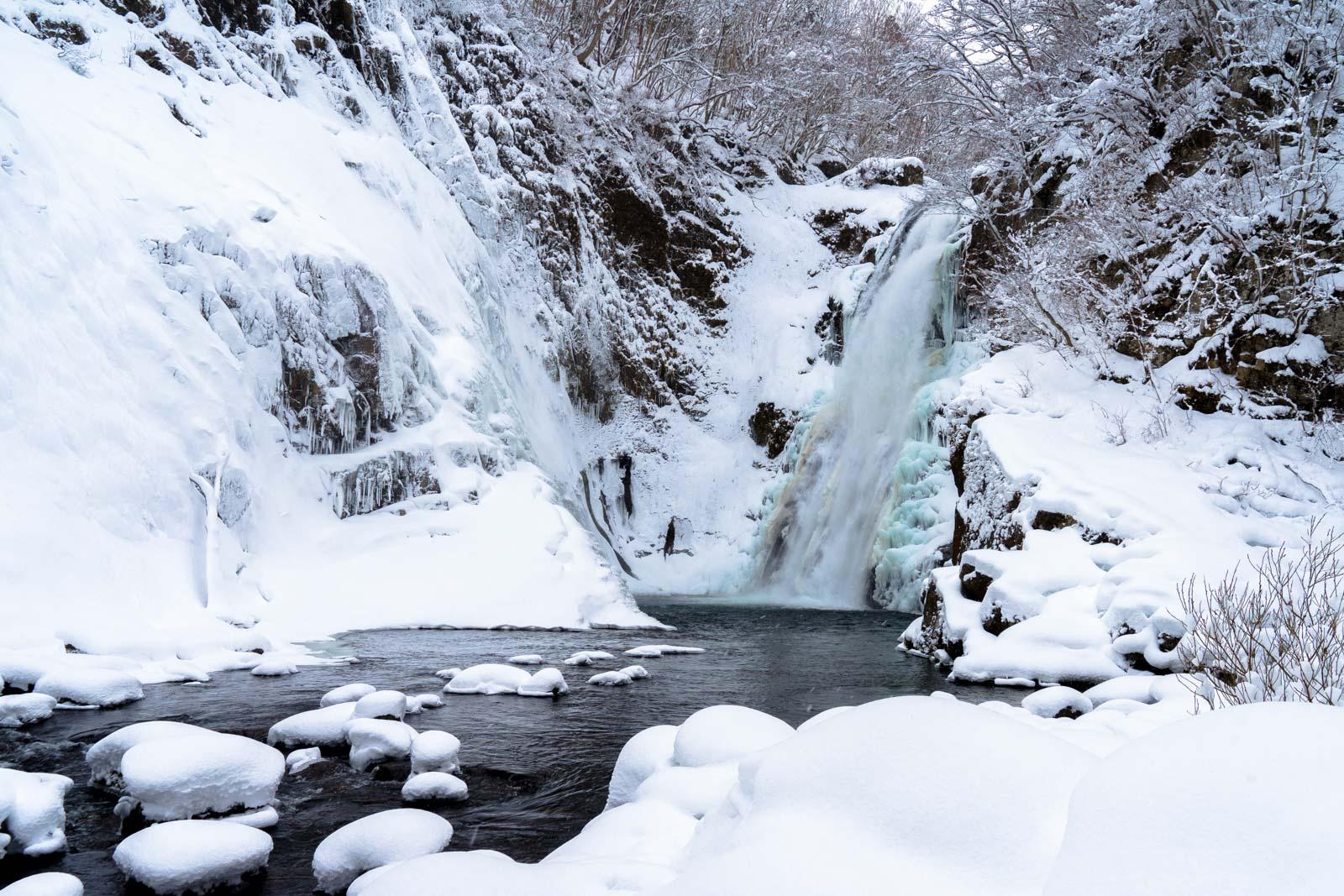 Akiu Falls, Miyagi Prefecture, Japan