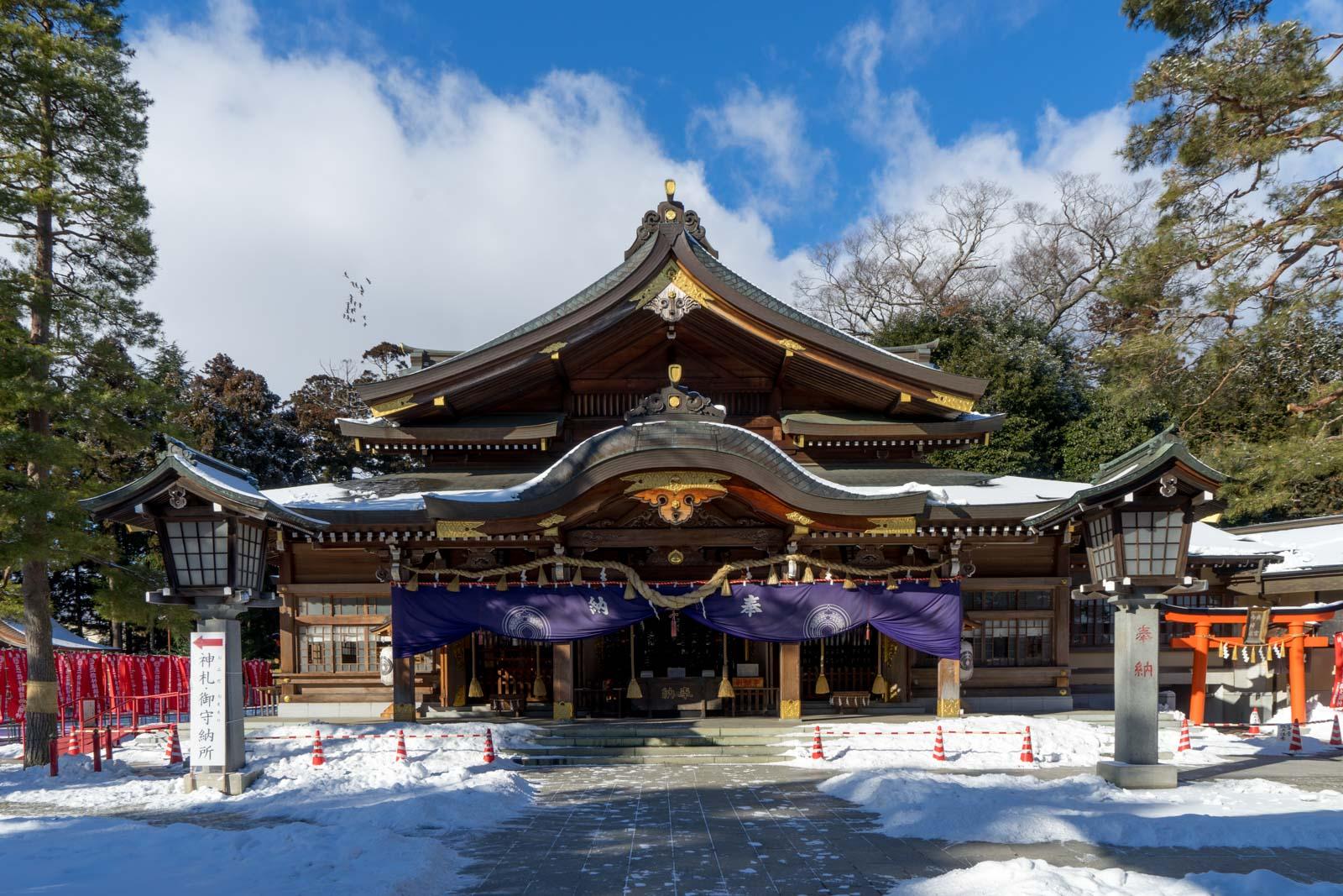 Takekoma Inari Shrine, Miyagi Prefecture, Japan