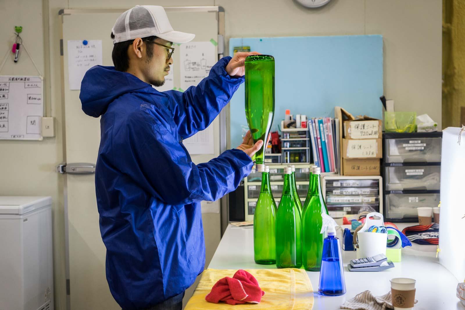 Sasaki Sake Brewery, tsunami recovery, Yuriage, Miyagi Prefecture, Japan