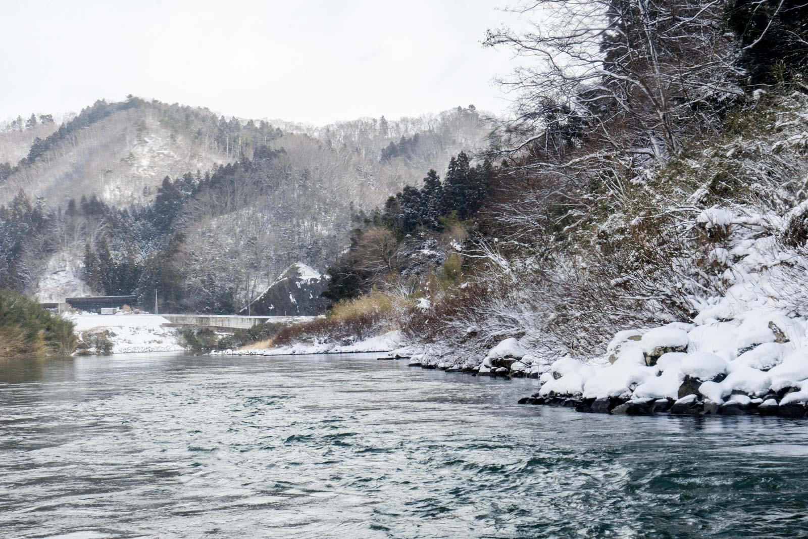 Abukuma River Boat, Miyagi Prefecture, Japan