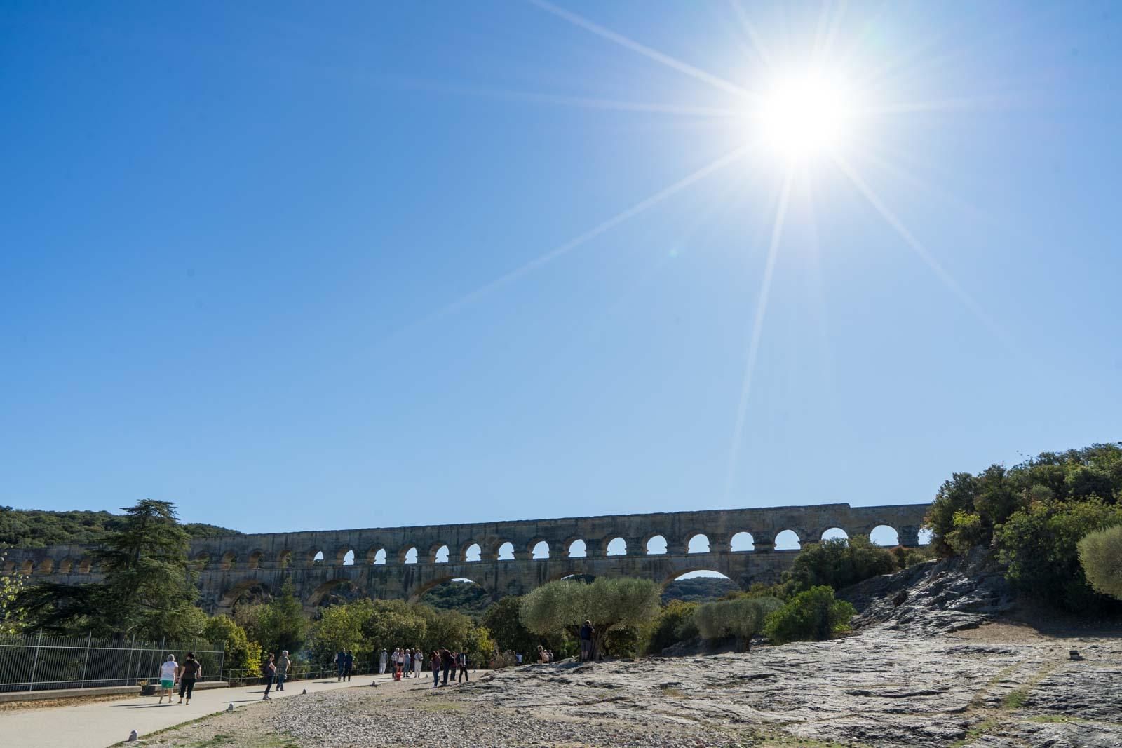 Pont du Gard, roman aqueduct, France