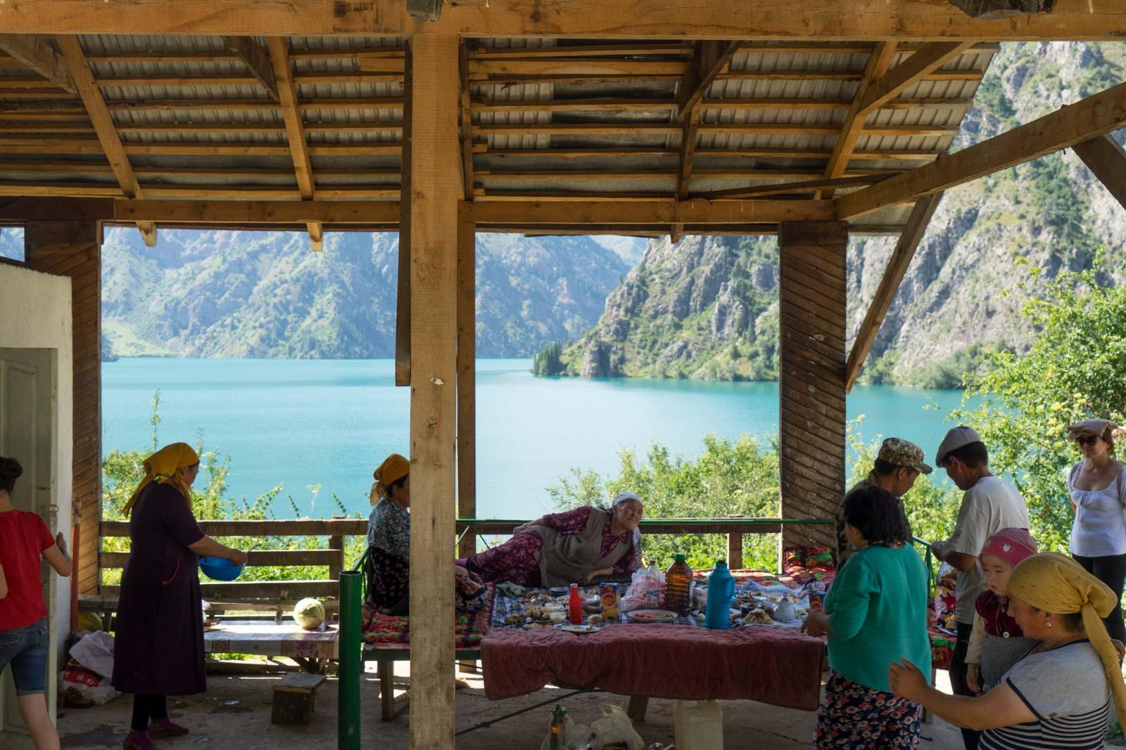 Sary-Chelek Lake, Kyrgyzstan