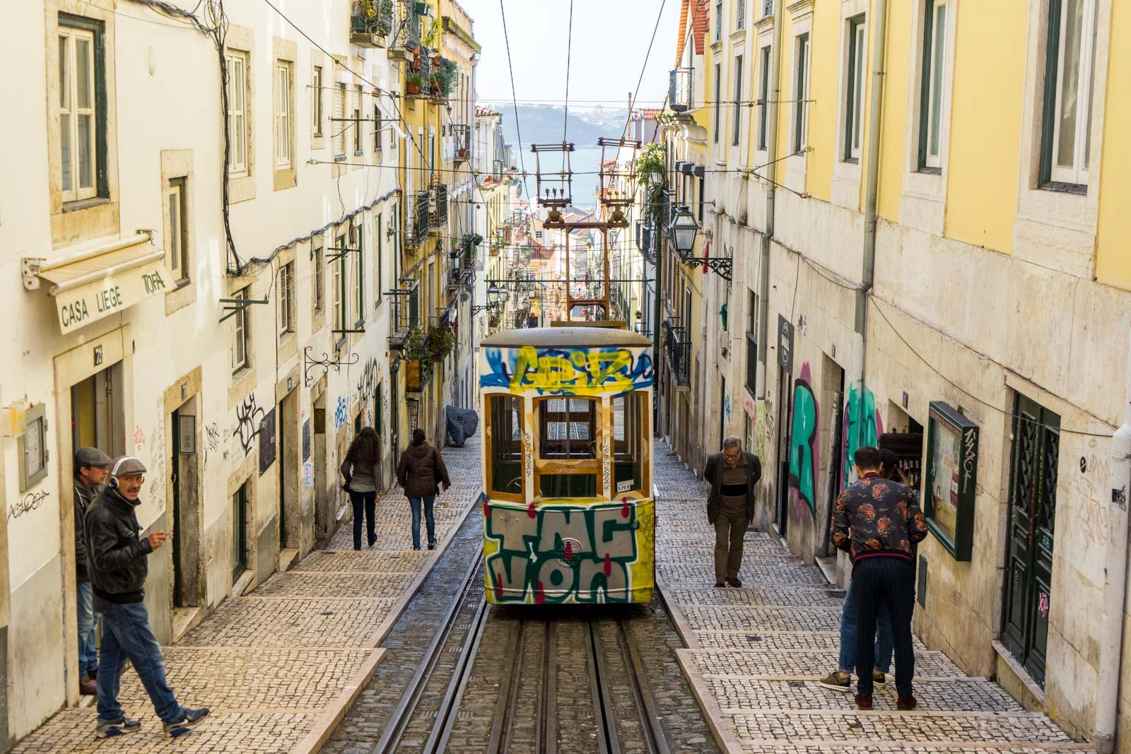 Funicular, Lisbon