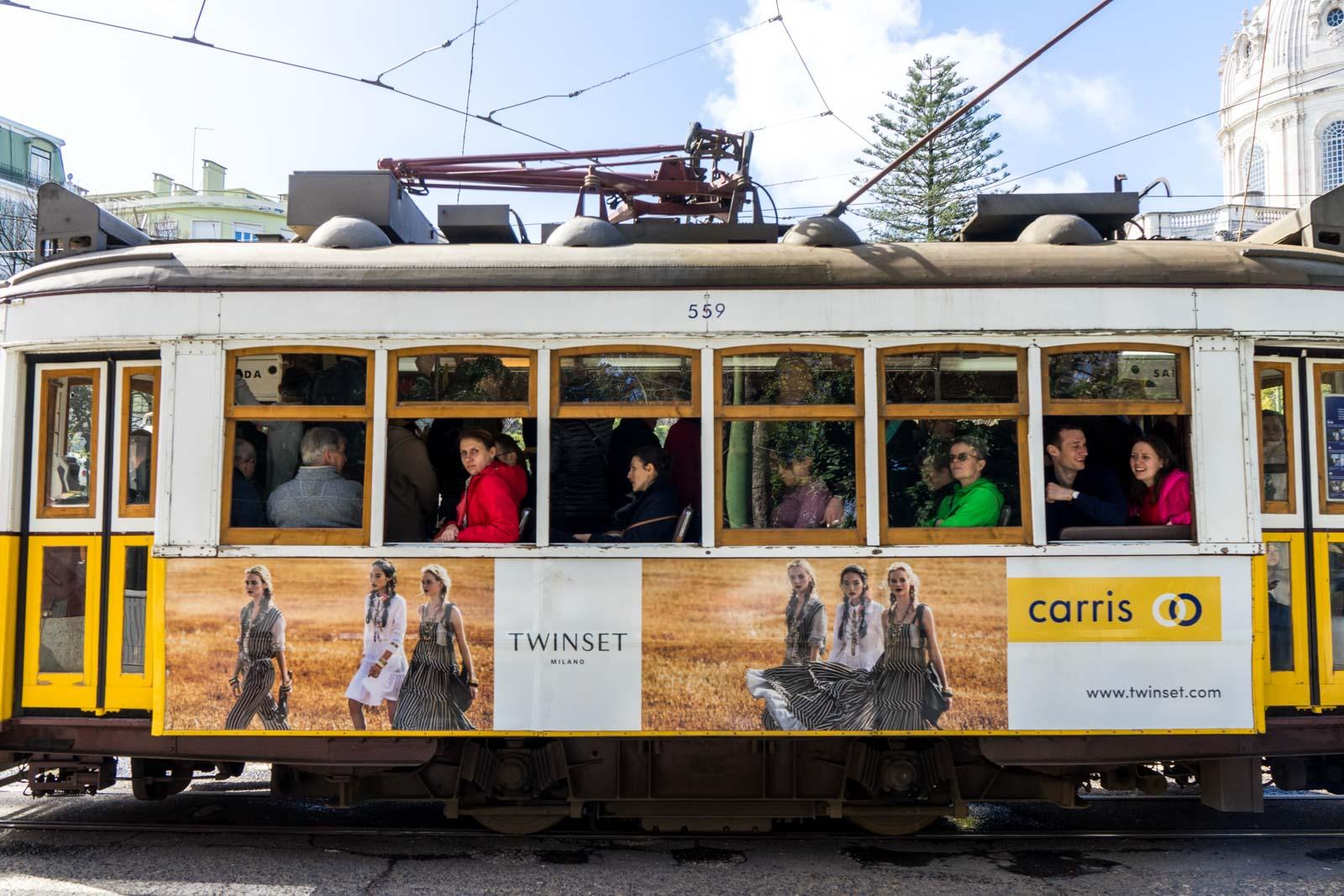 Tram 28 Lisbon route