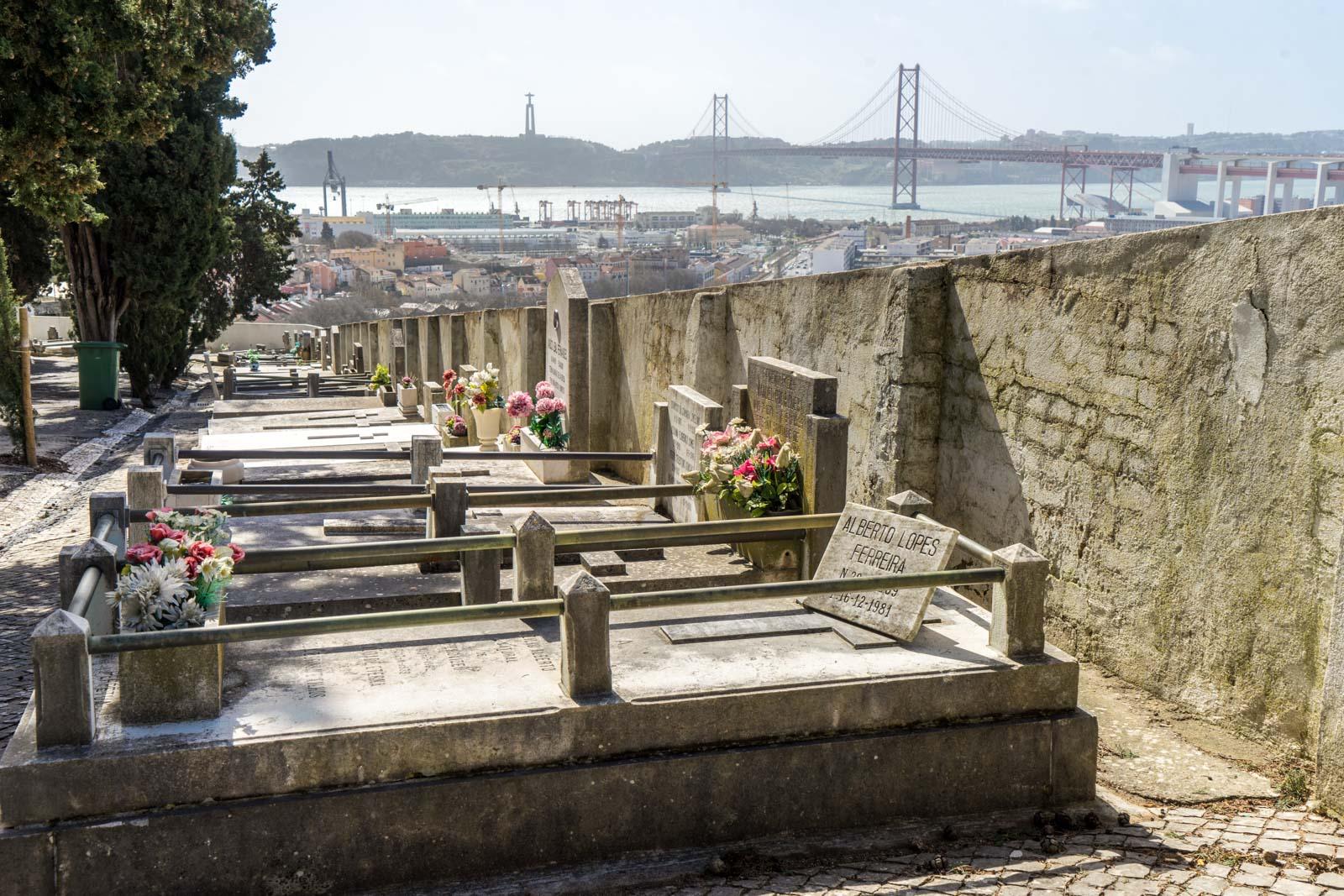 Prazeres Cemetery, Lisbon