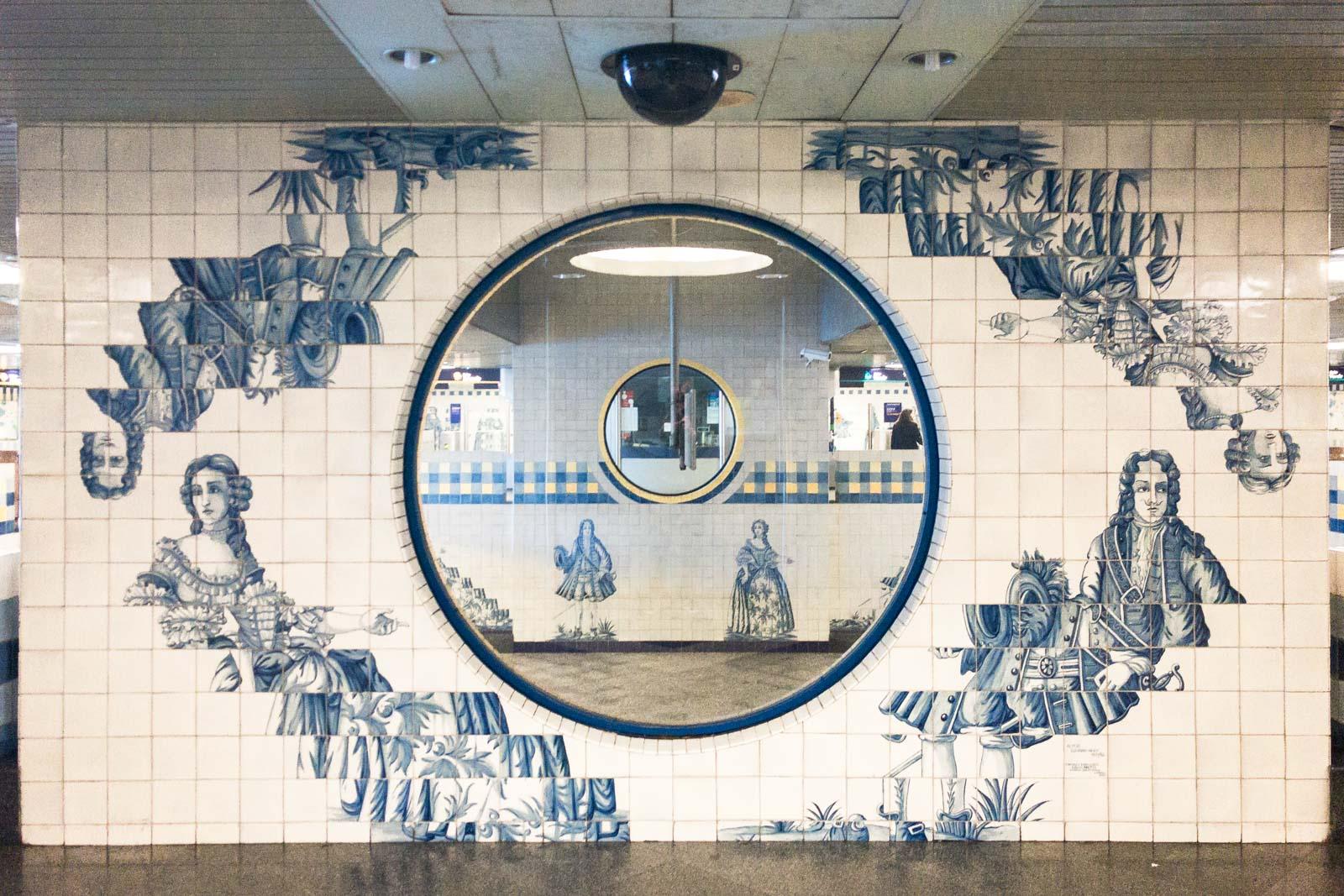 Campo Grande, Lisbon Metro Art