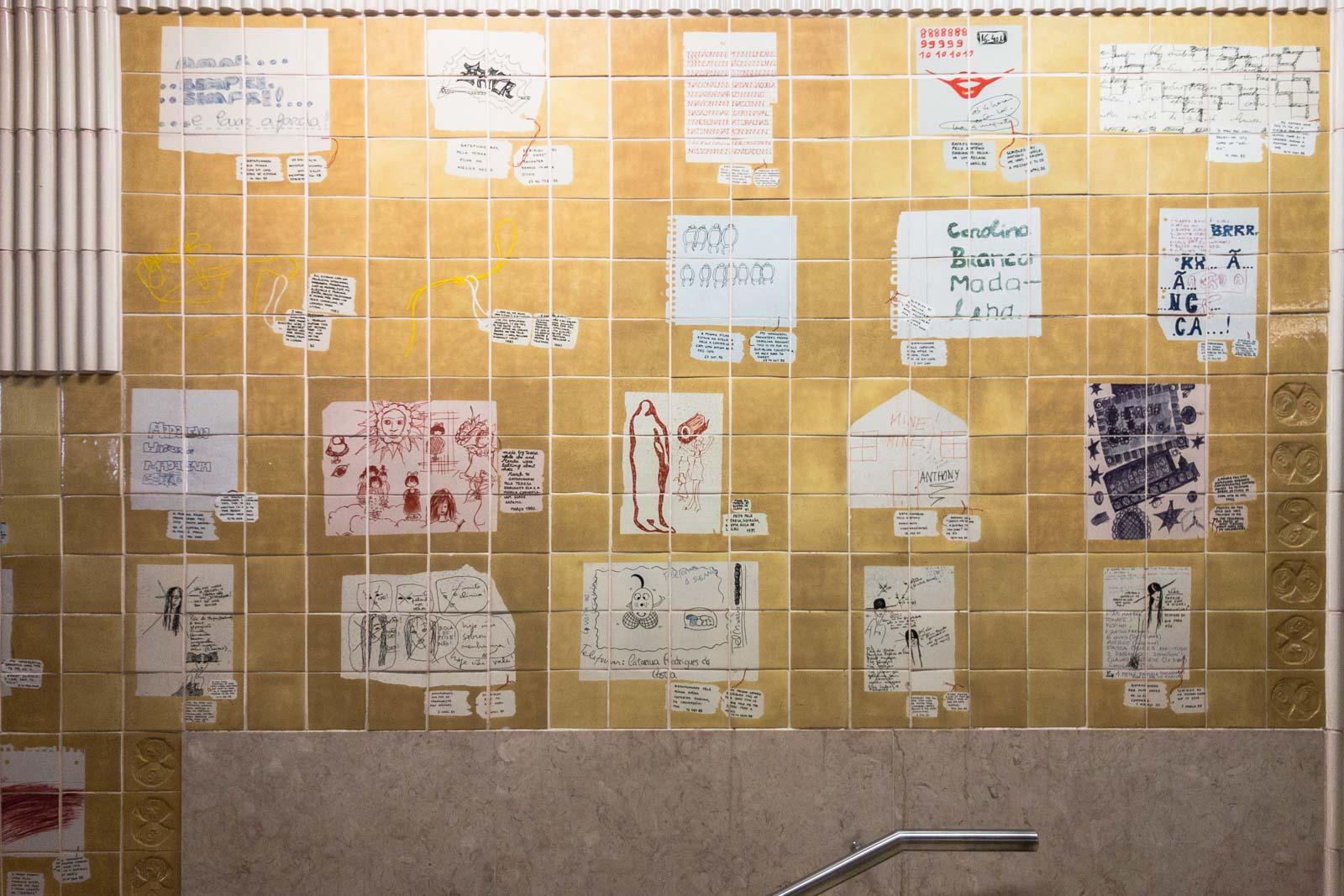 Quinta das Conchas, Lisbon Metro Art