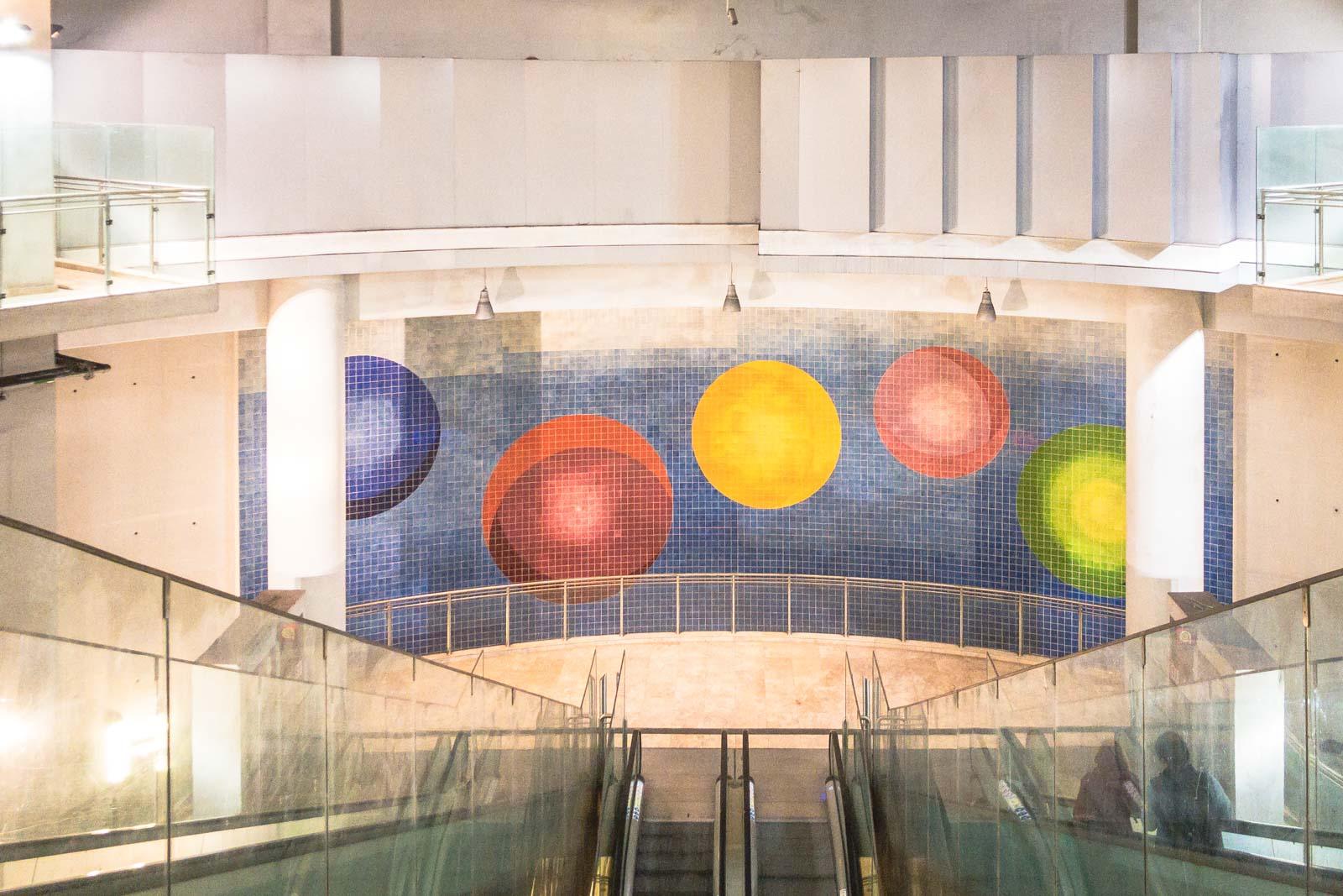 Ameixoeira, Lisbon Metro Art