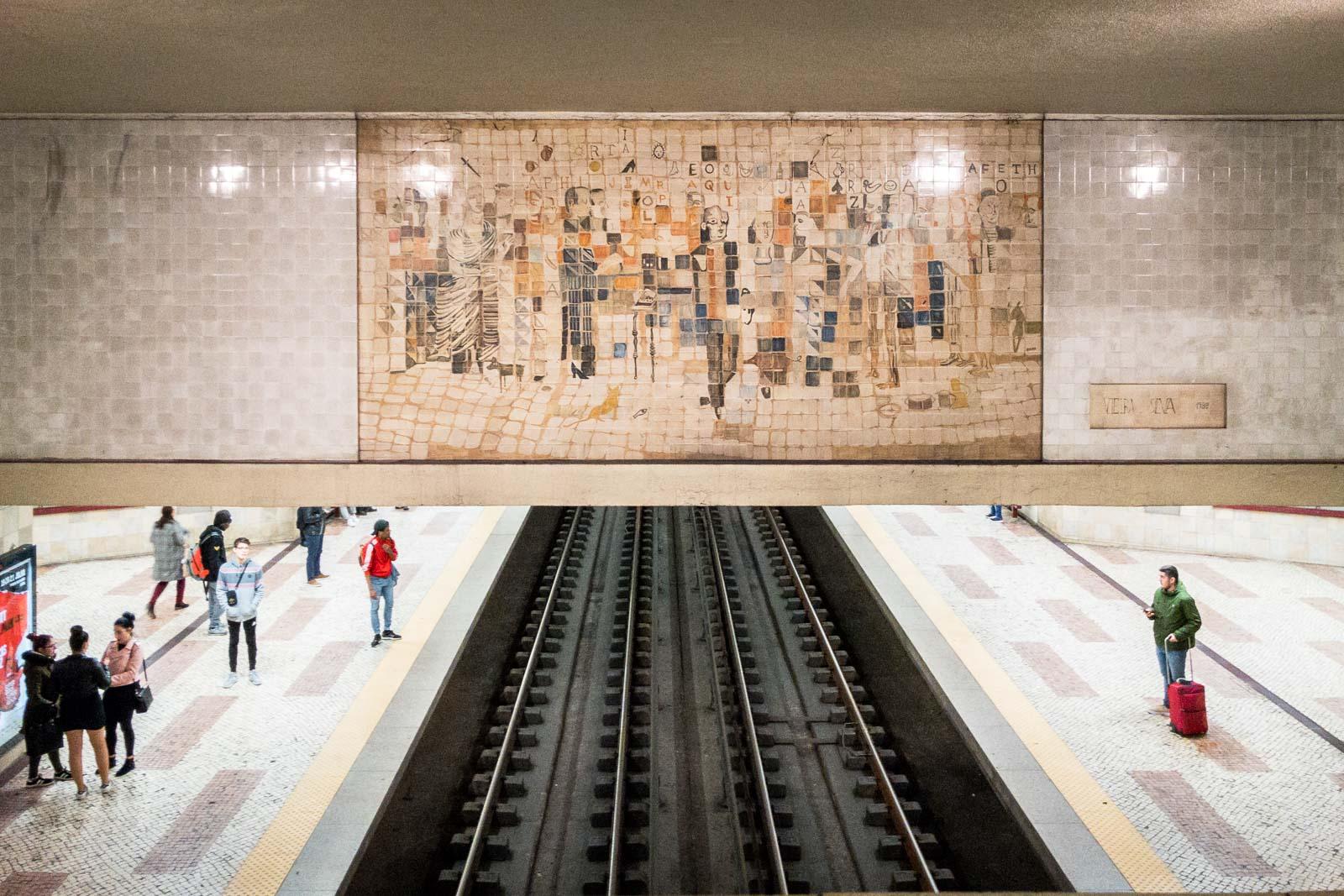 Cidade Universitaria, Lisbon Metro Art