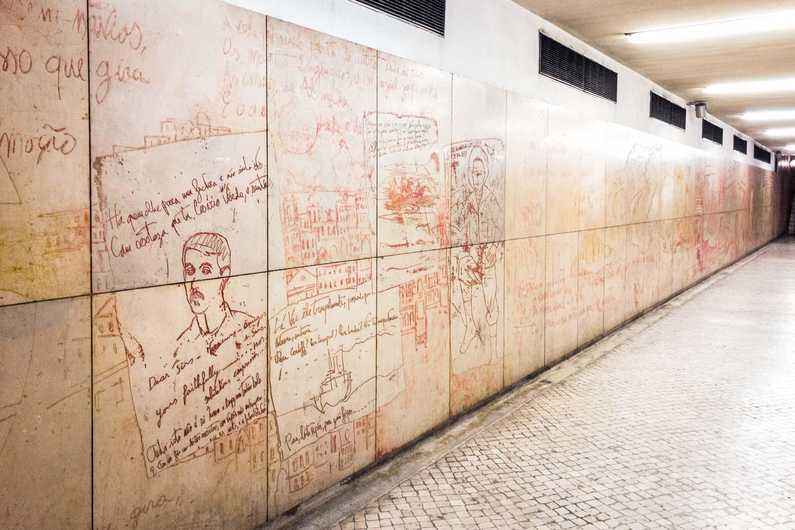 Entre Campos, Lisbon Metro Art