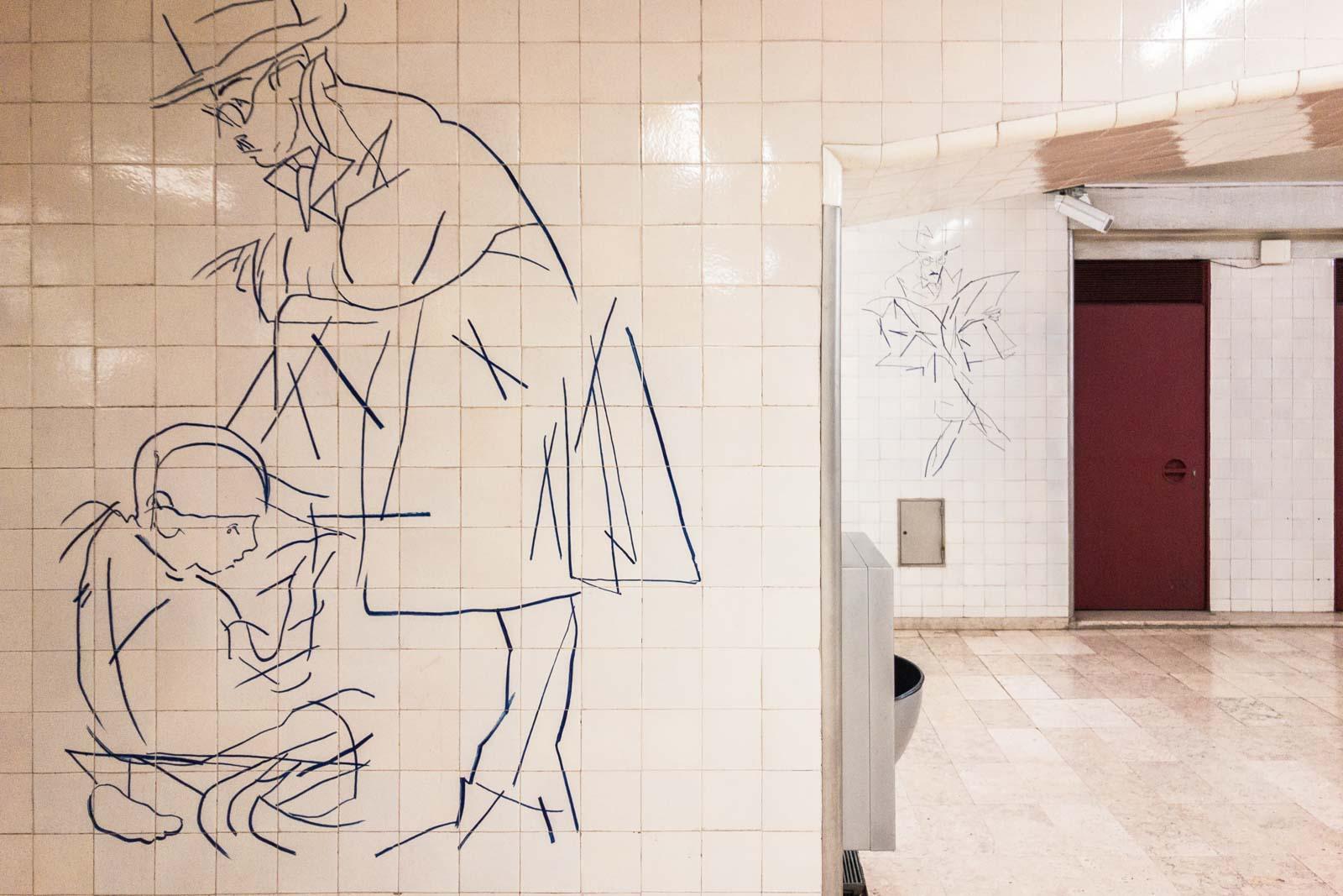 Alto dos Moinhos, Lisbon Metro Art