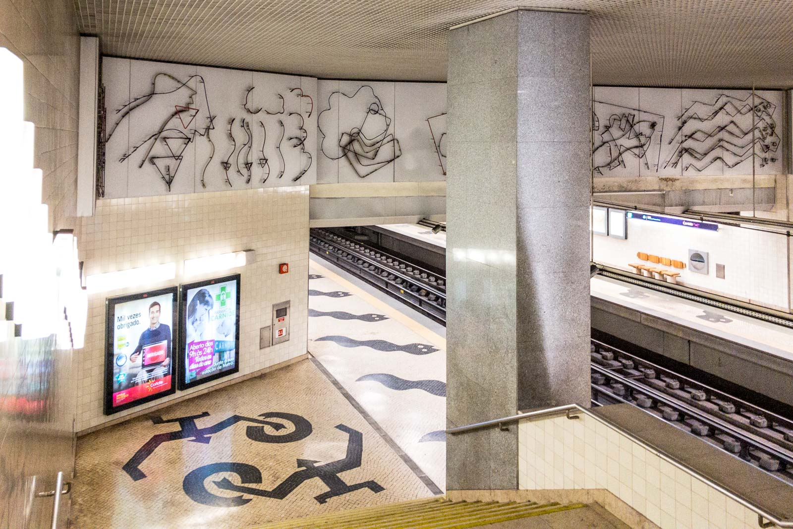Carnide, Lisbon Metro Art