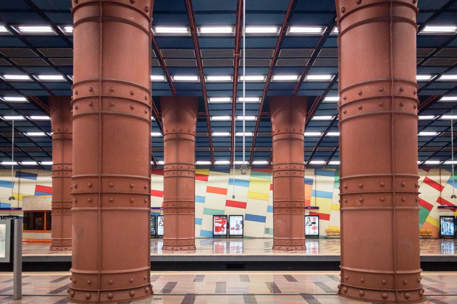 Olaias, Lisbon Metro Art