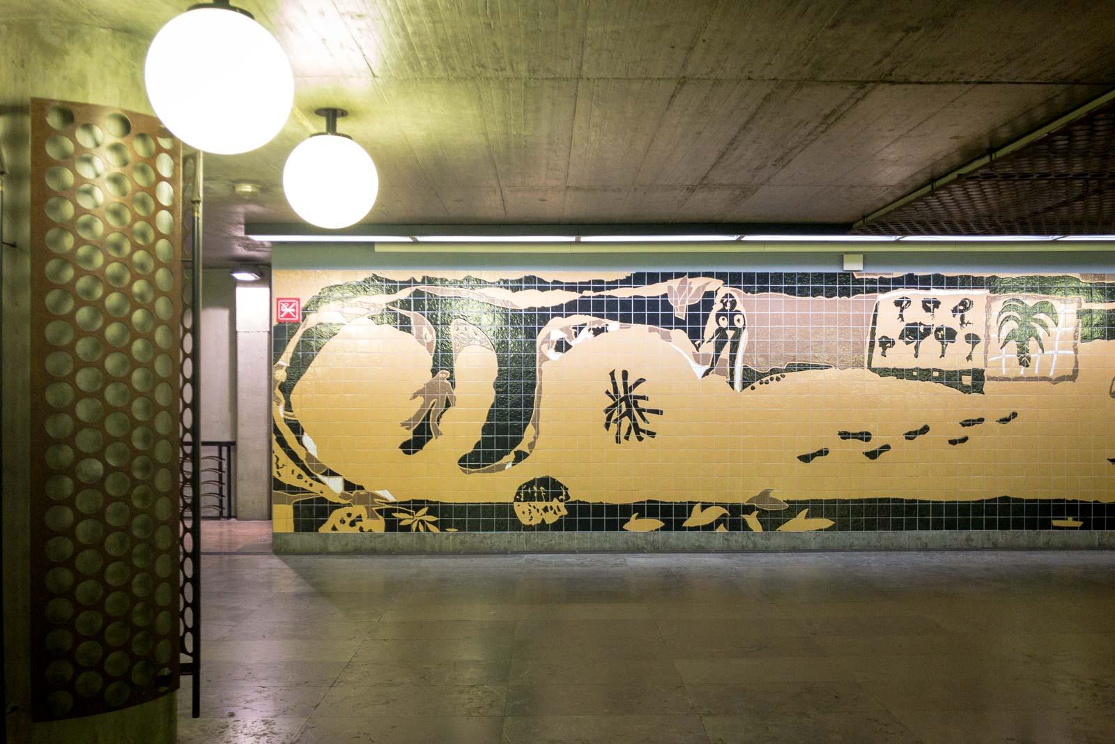 Oriente, Lisbon Metro Art