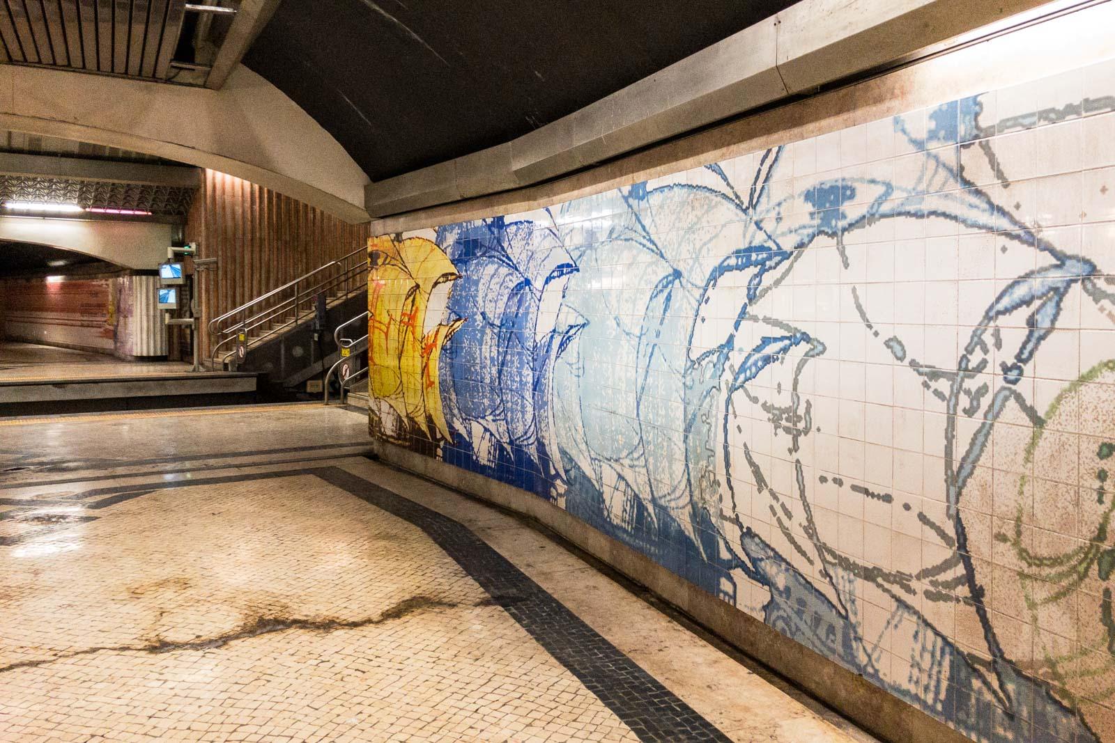 Olivais, Lisbon Metro Art