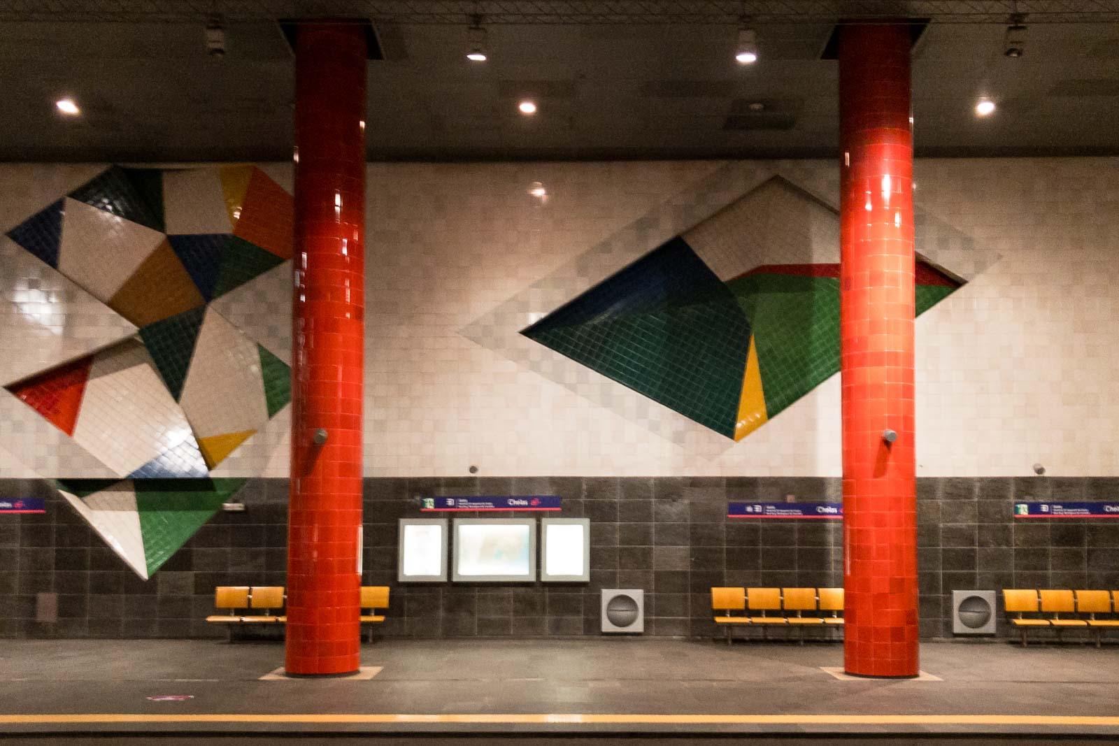 Chelas, Lisbon Metro Art
