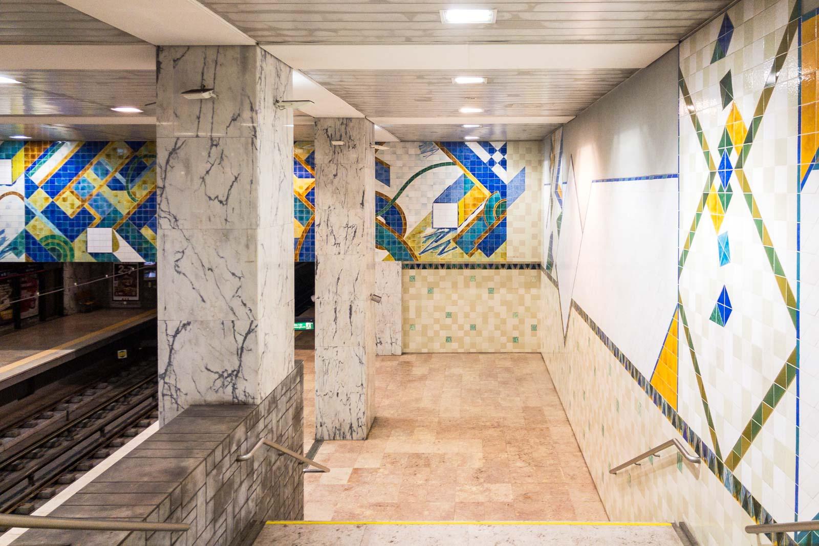 Bela Vista, Lisbon Metro Art