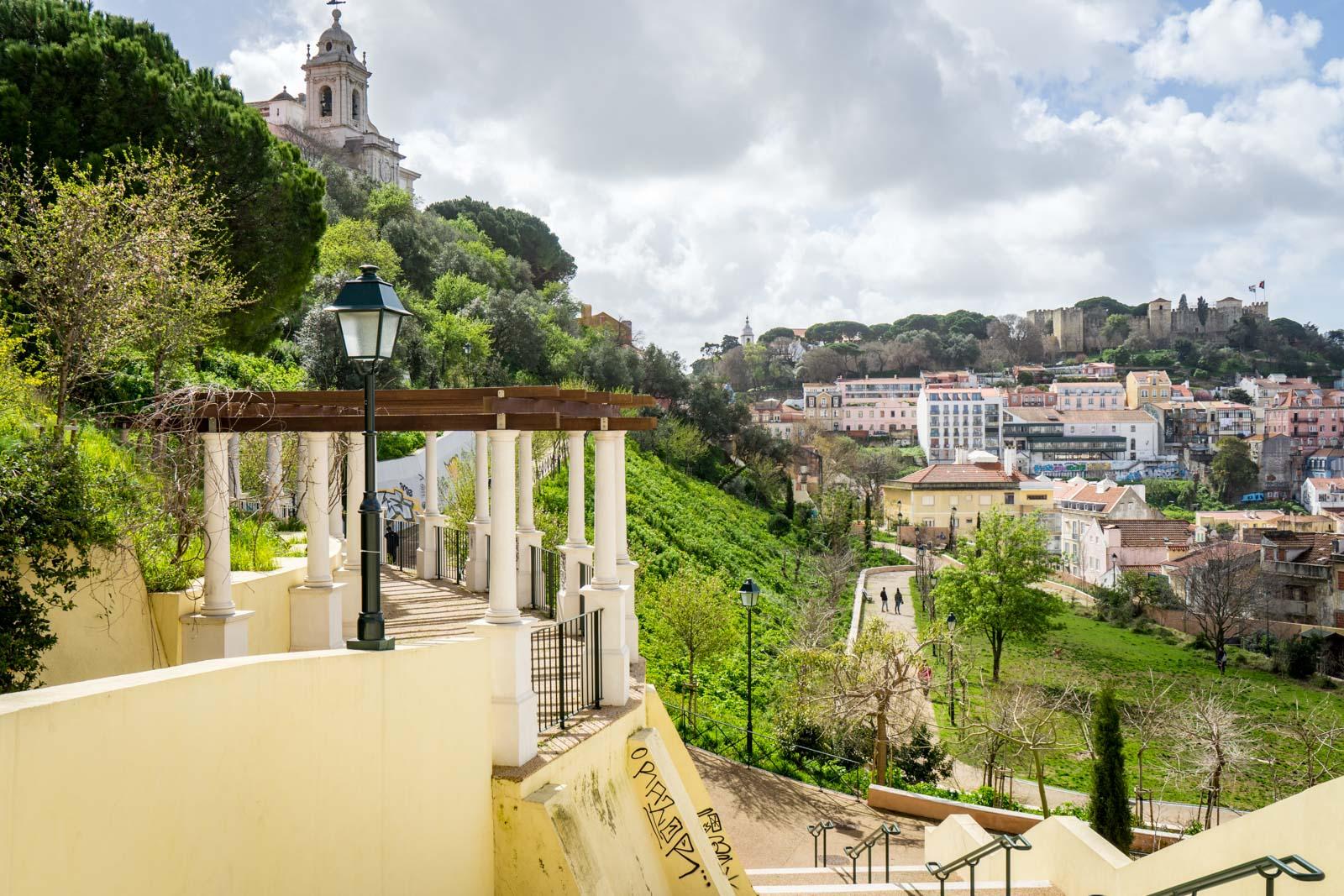 Jardim da Cerca da Graça, Lisbon