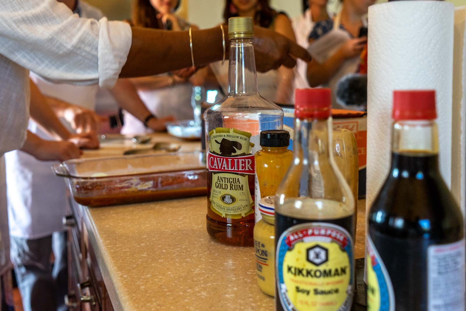Cooking class at Nicole's Table in Antigua