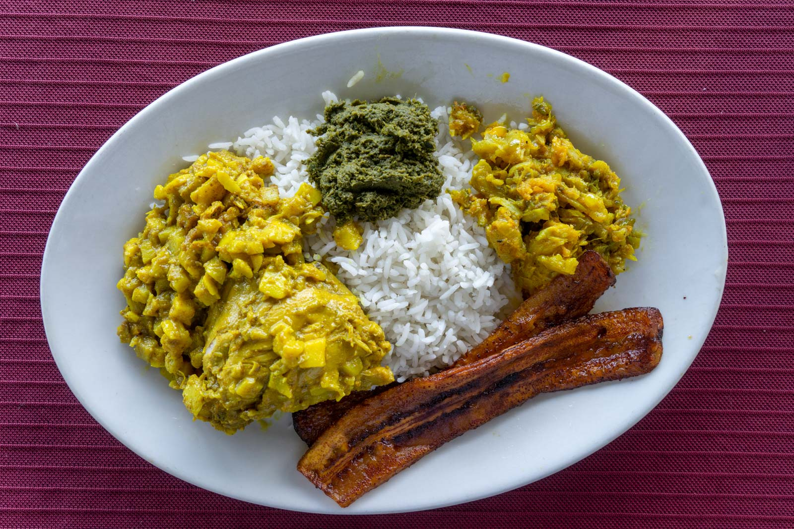 East Indian Food, Punta Gorda, Belize