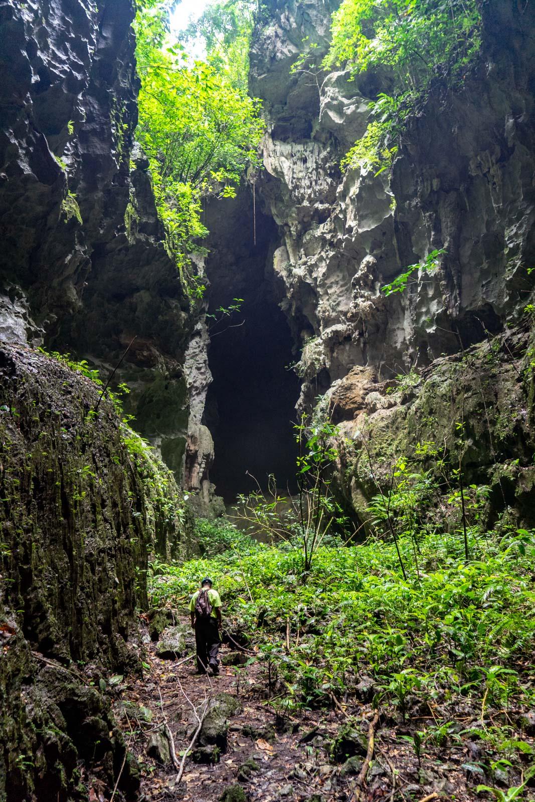 Tiger Cave from Punta Gorda, Belize