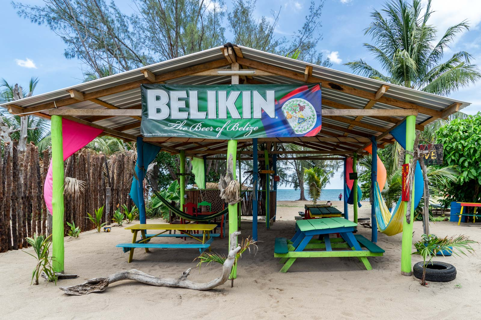 Beaches in Hopkins, Belize