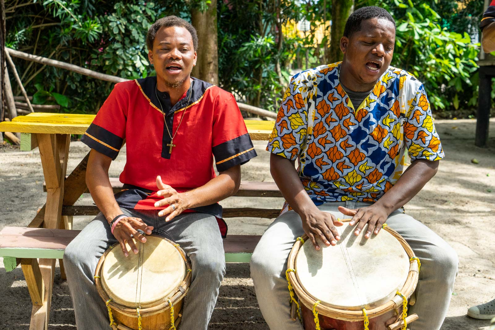 Garifuna Drumming School, Hopkins, Belize