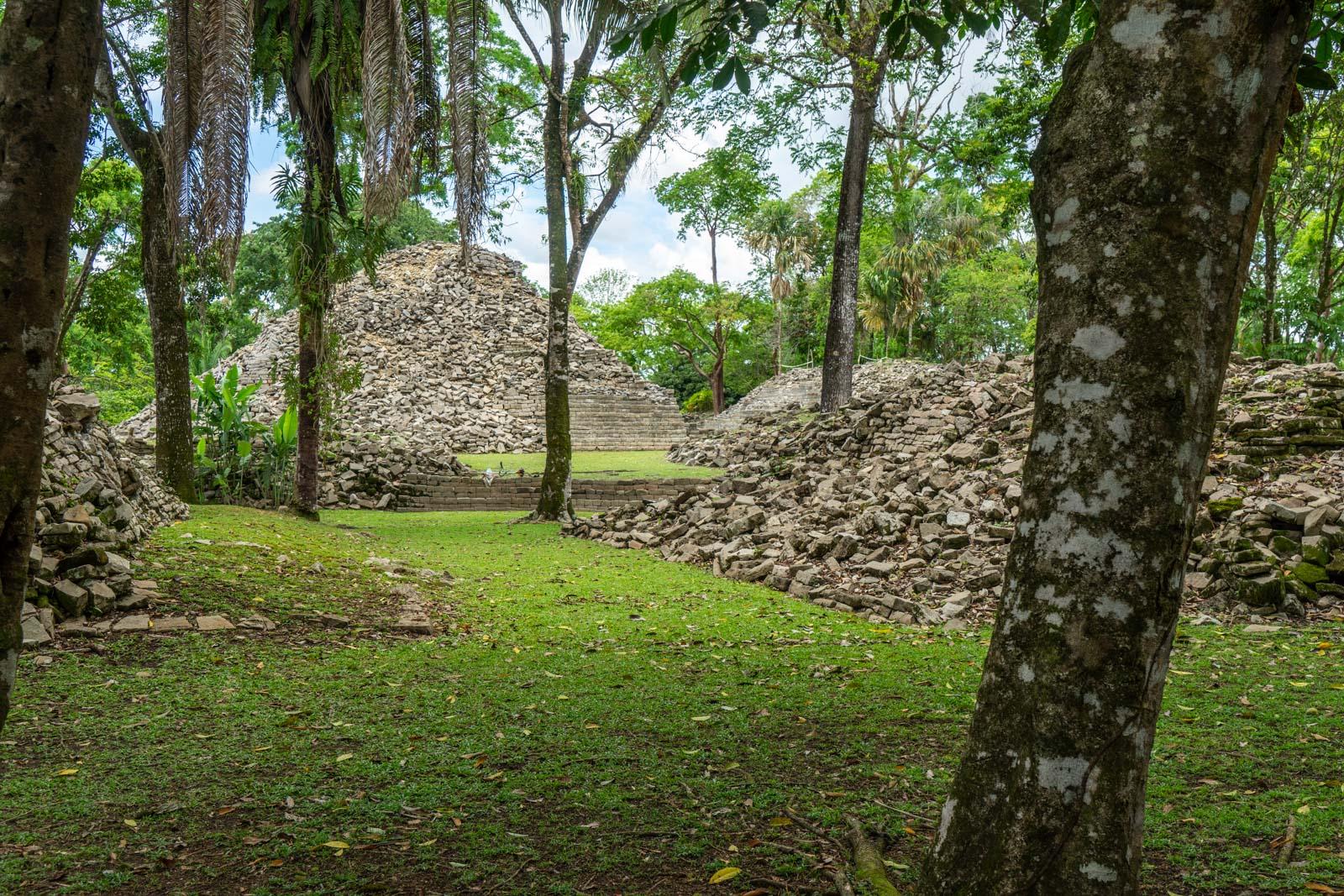 Lubaantun Maya Ruins, near Punta Gorda, Belize