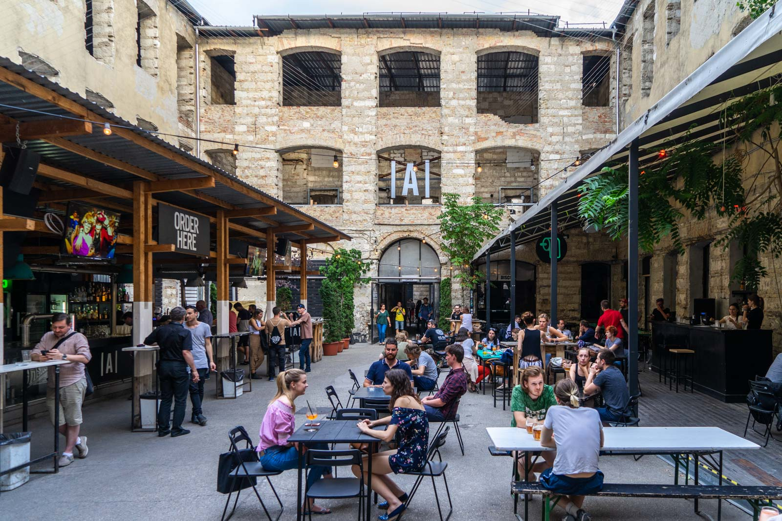 Best ruin bars in Budapest, Hungary