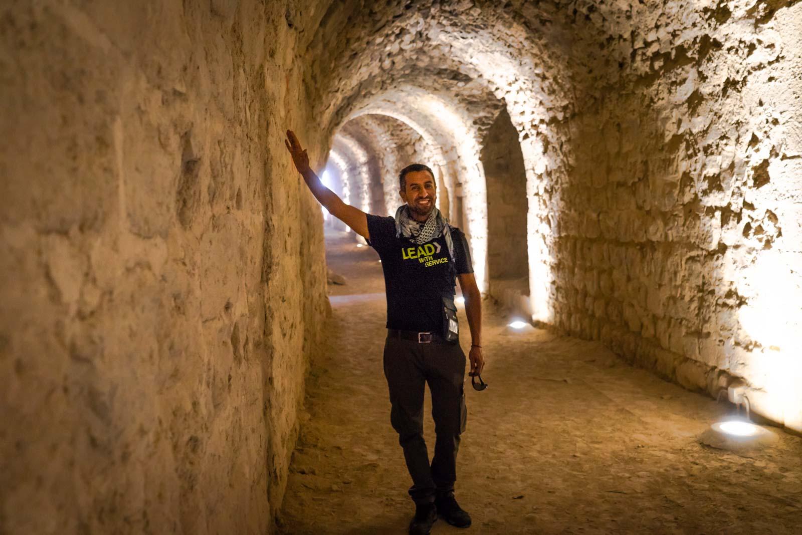 Abdullah, G Adventures tour guide, Jordan