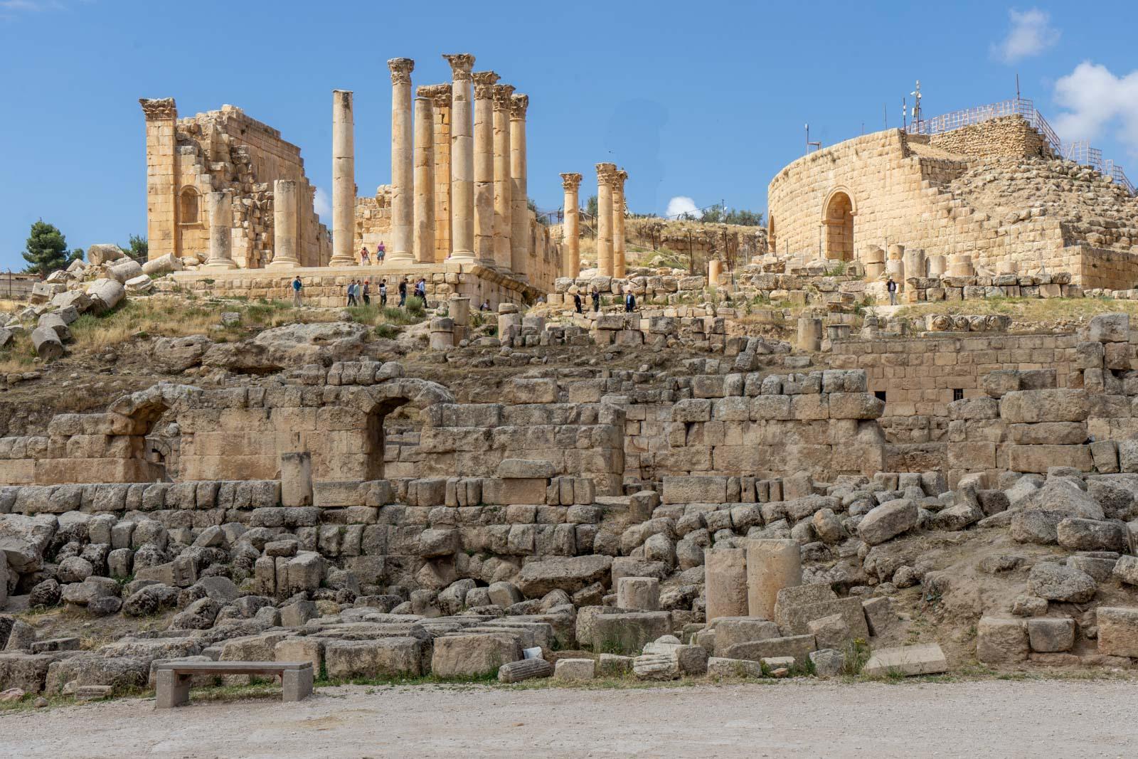 Temple of Zeus, Jerash, Jordan