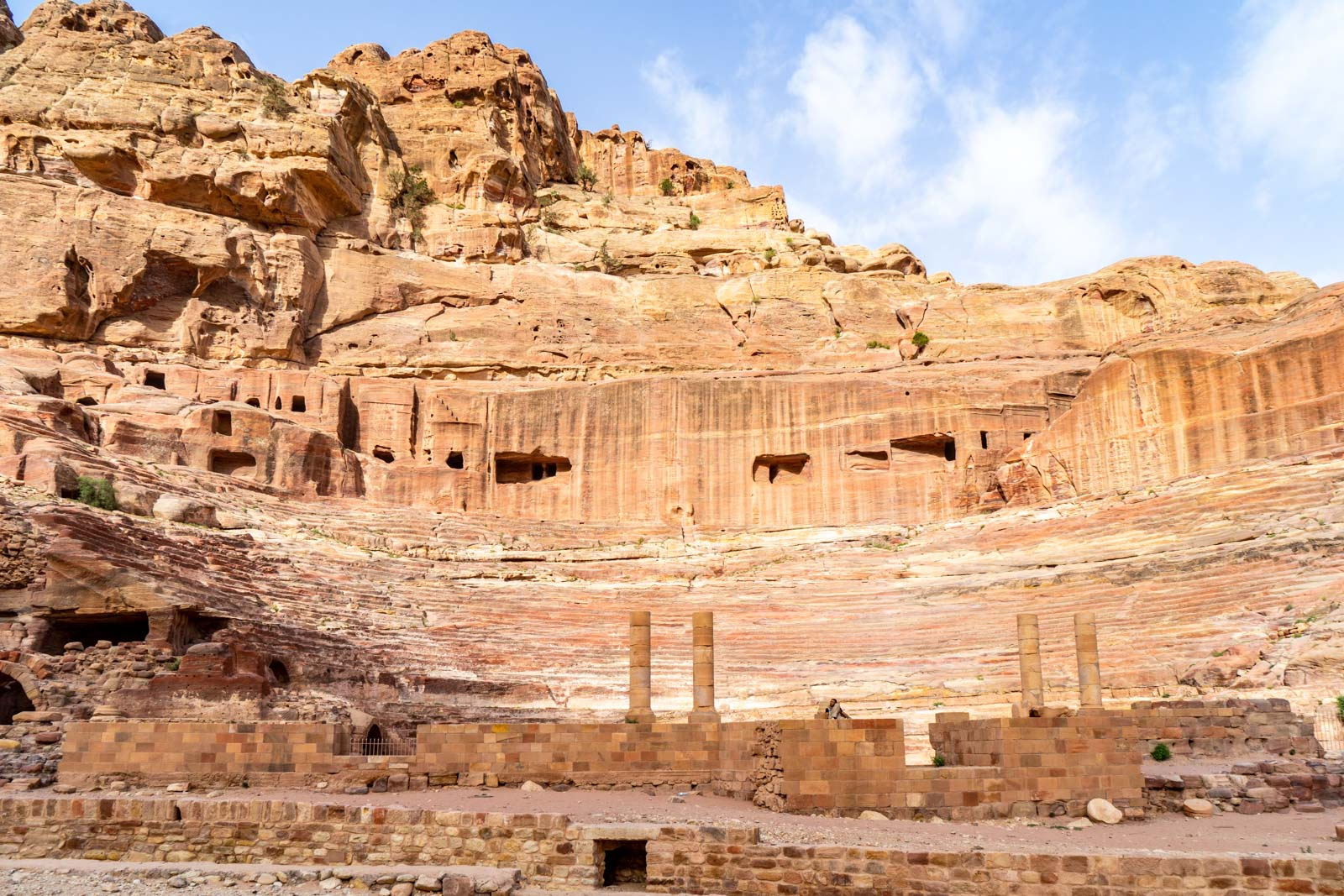 Nabatean Theatre, Petra, Jordan