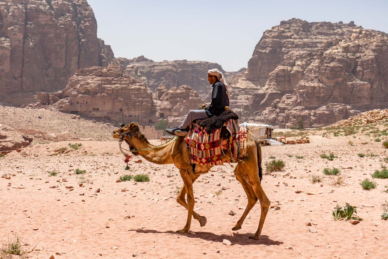 The history of Petra, Jordan