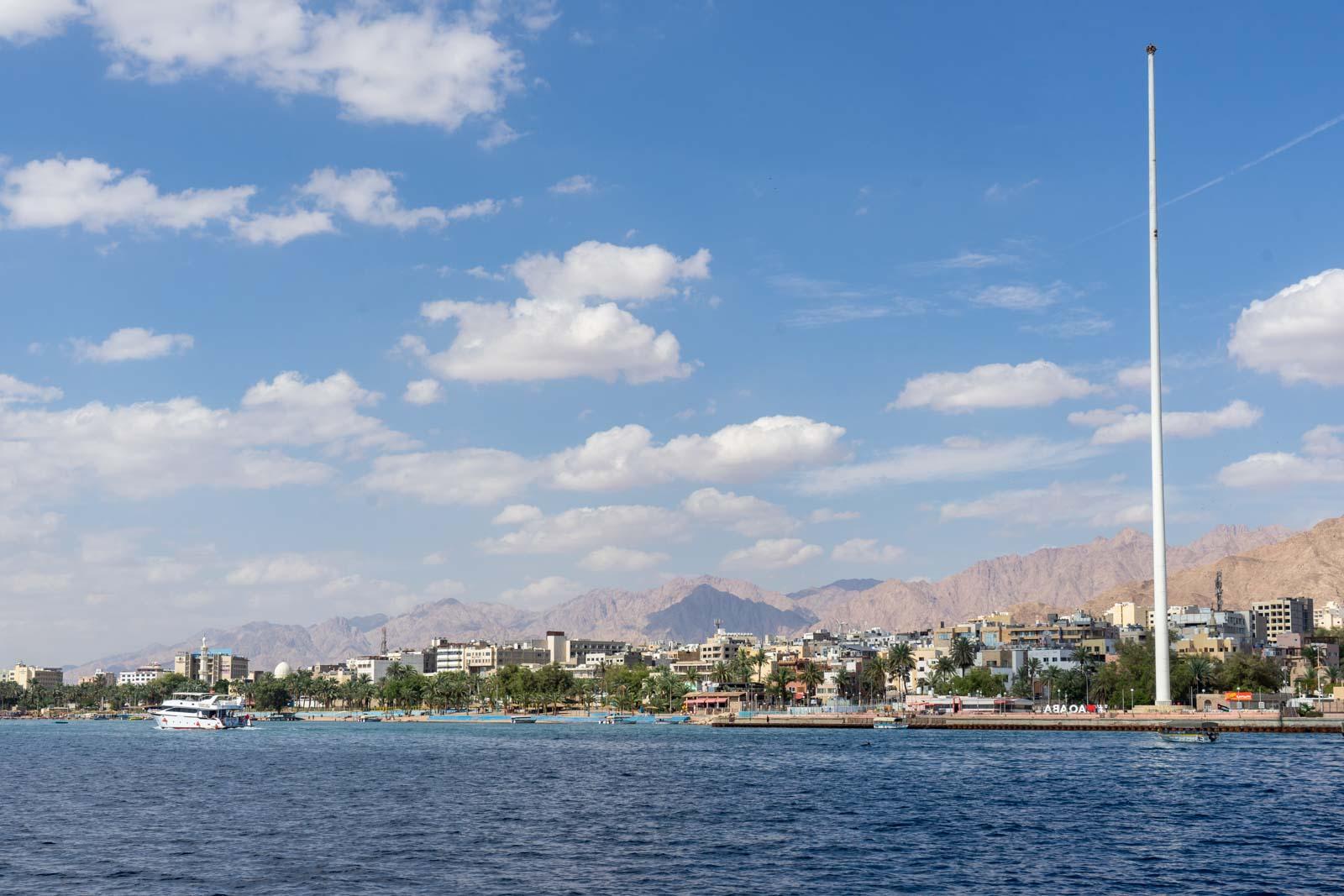 Red Sea snorkelling near Aqaba, Jordan