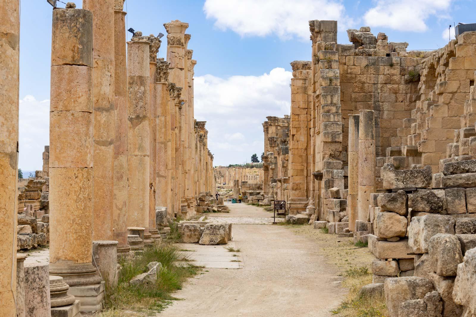 The Cardo, Jerash, Jordan