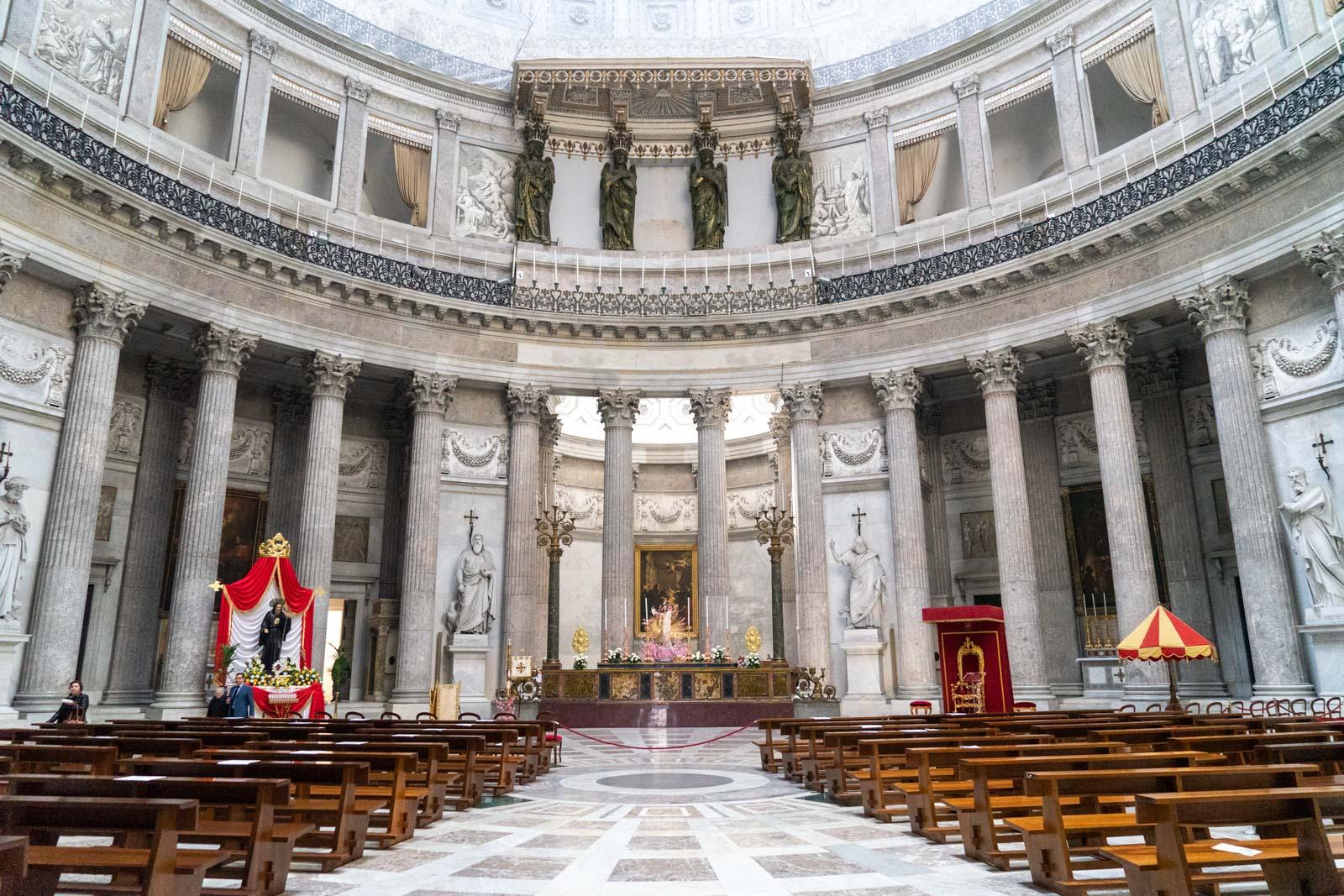 Basilica San Francesco da Paola, Naples, Italy