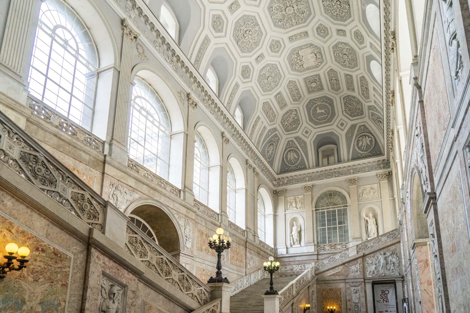 Royal Palace, Naples, Italy