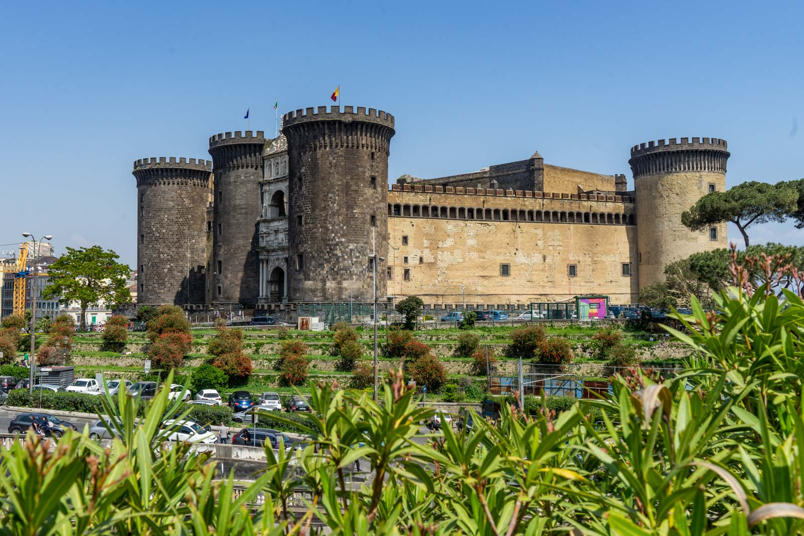 One day in Historic Centre of Naples, Italy