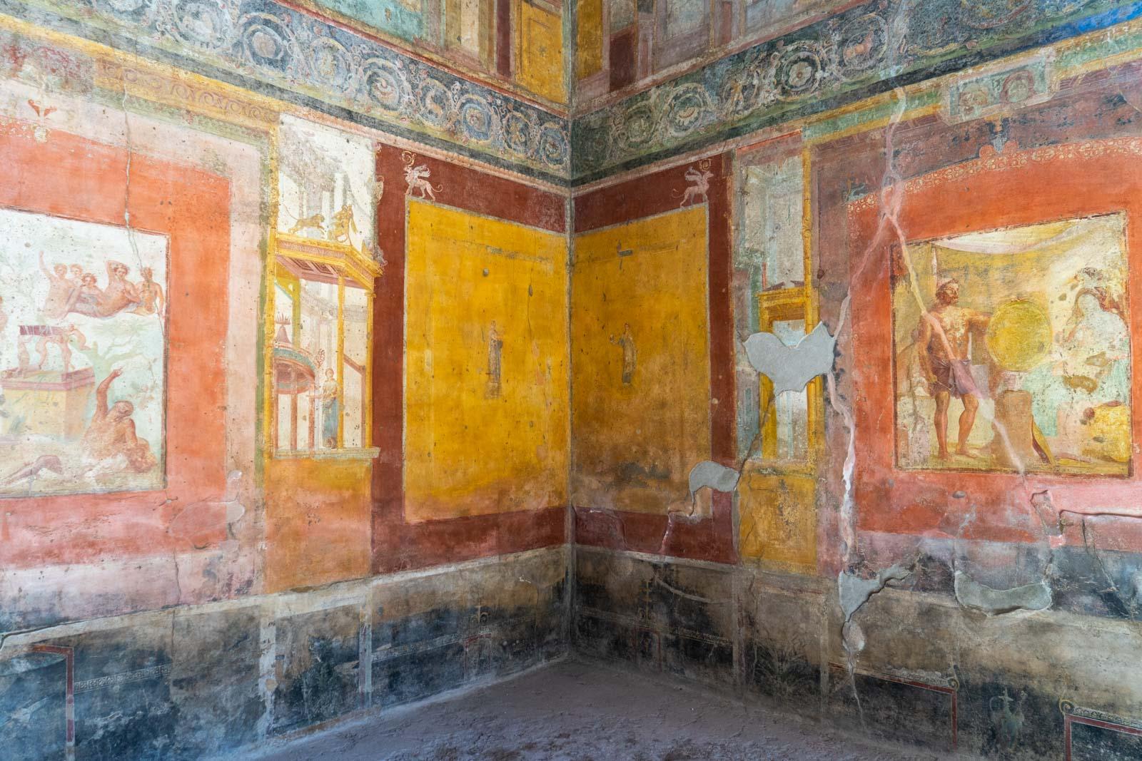 House of Sirico, Pompeii, Italy