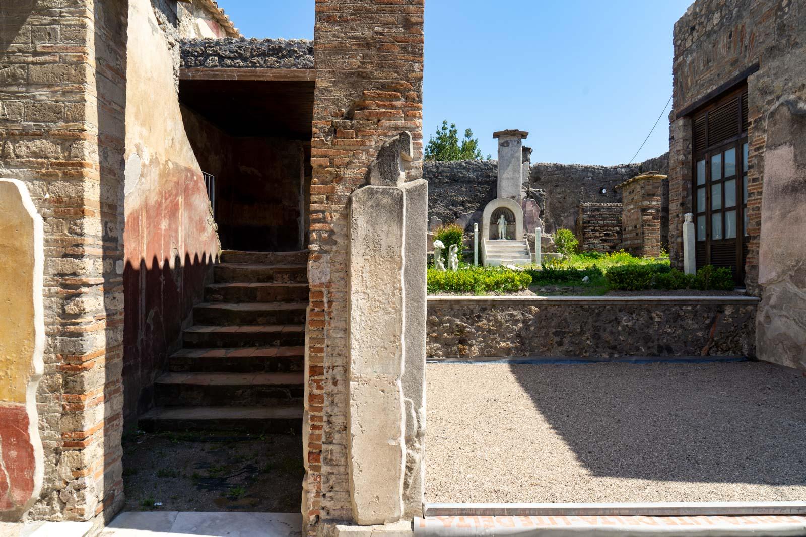 House of Marcus Lucretius in via Stabiana, Pompeii, Italy