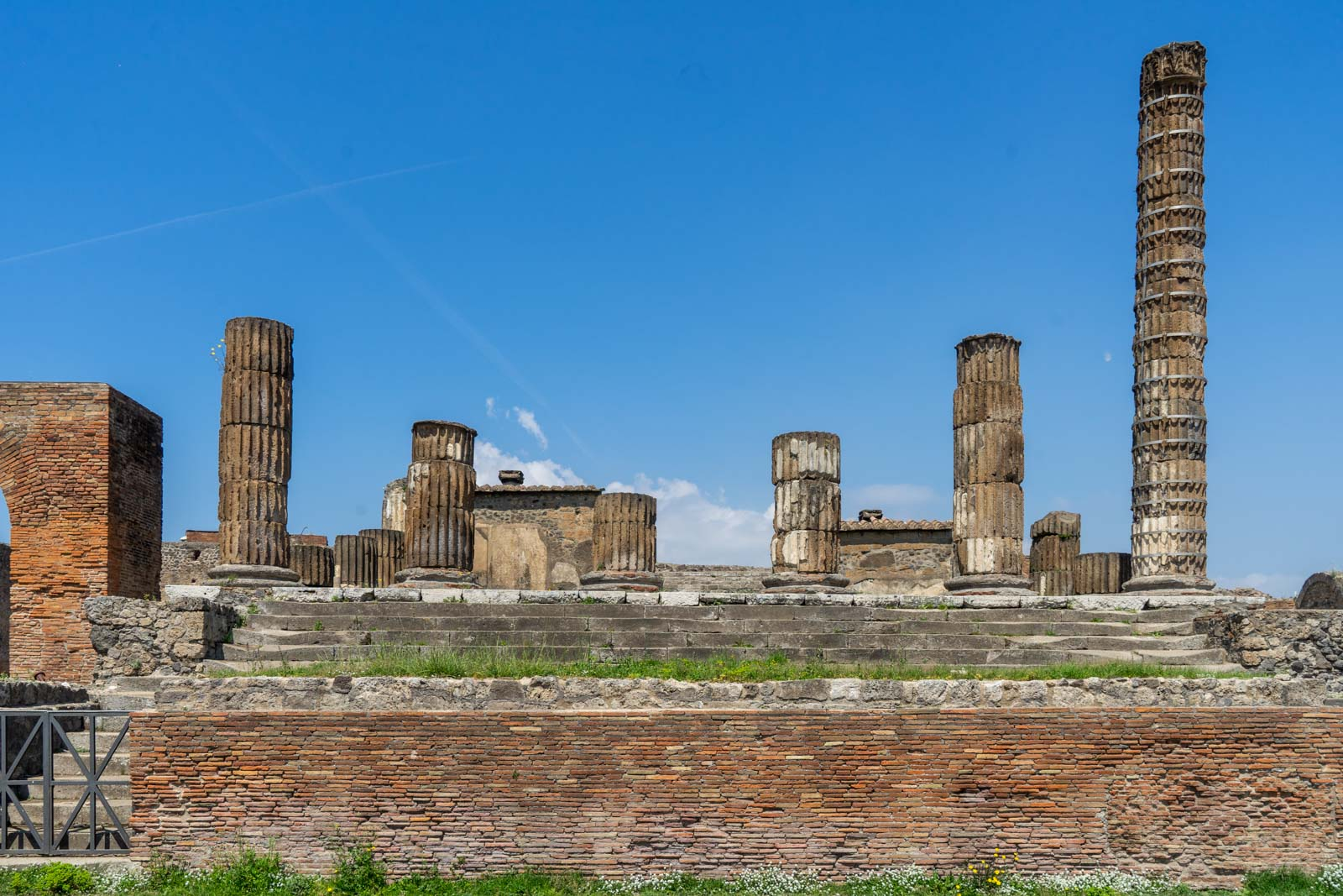 Temple of Jupiter, Pompeii, Italy