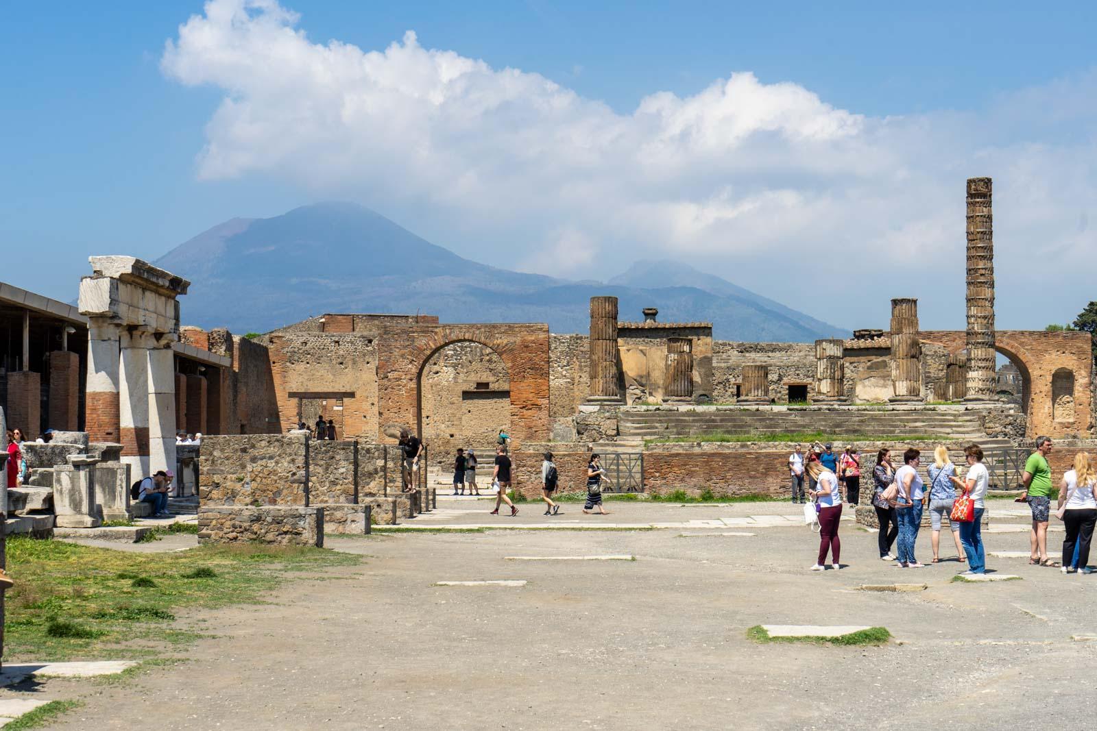 The Forum Granary, Pompeii, Italy