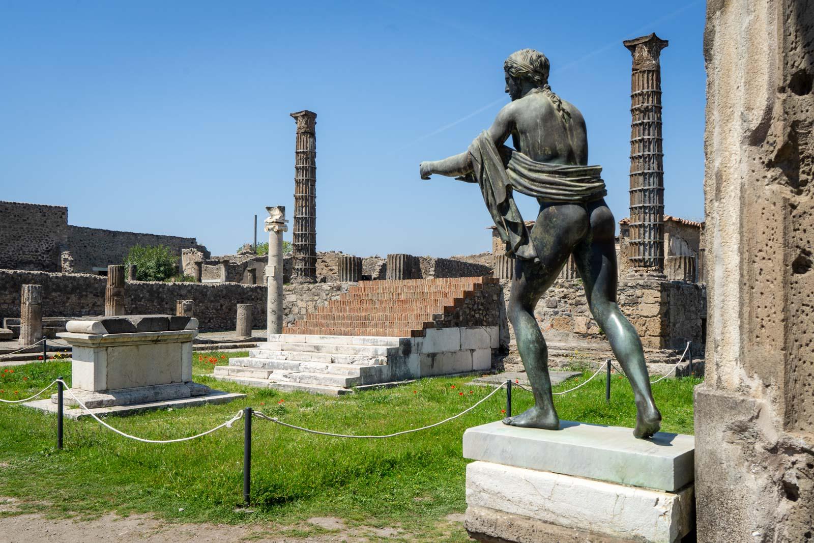 Sanctuary of Apollo, Pompeii, Italy
