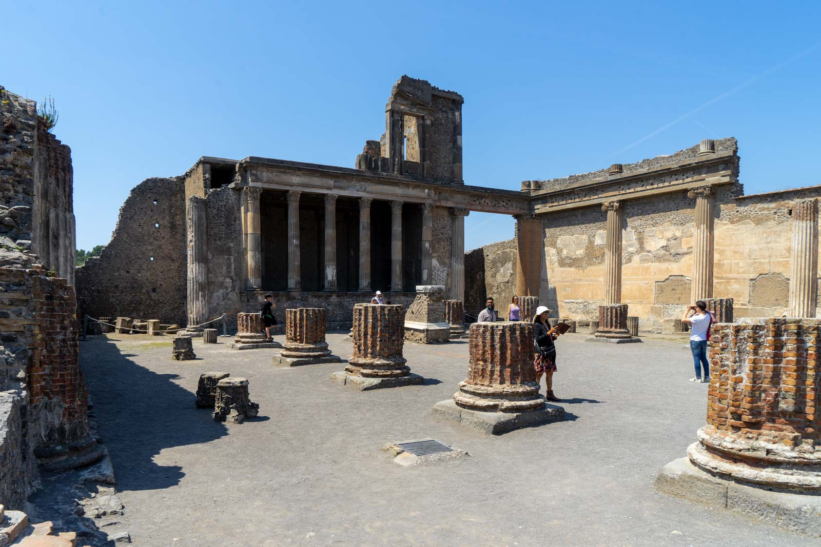 The Basilica, Pompeii, Italy